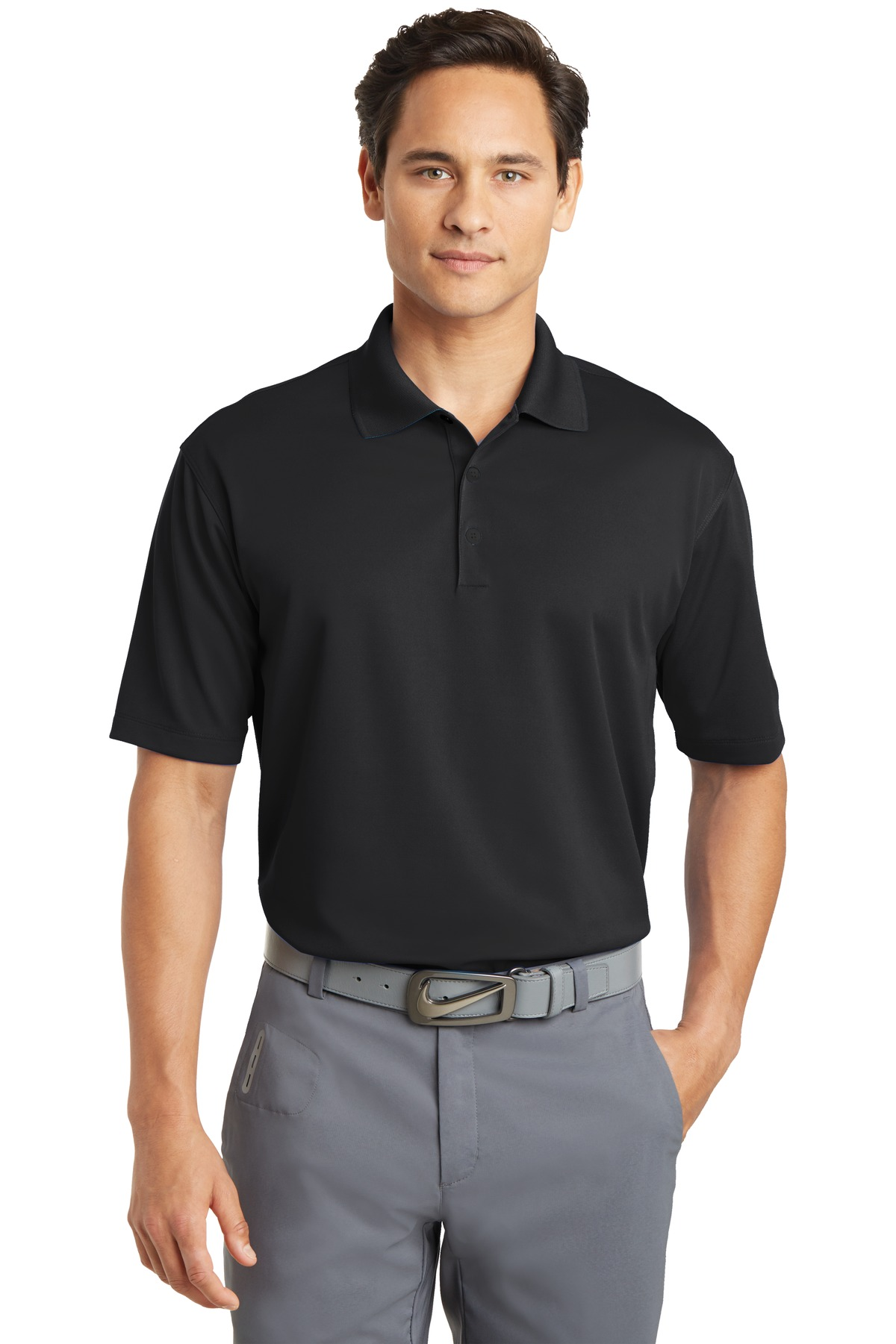Nike Dri-FIT Micro Pique Polo. 363807 - Black