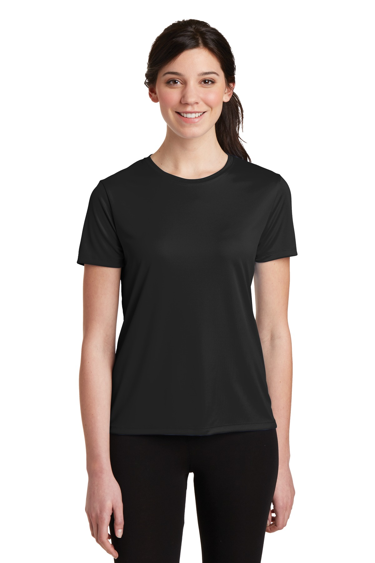 DISCONTINUED Hanes Ladies Cool Dri Performance T-Shirt. 4830