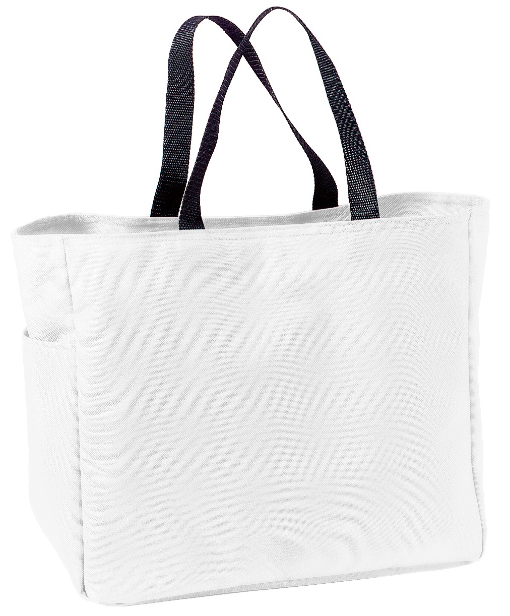 Port Authority ®  -  Essential Tote.  B0750 - White