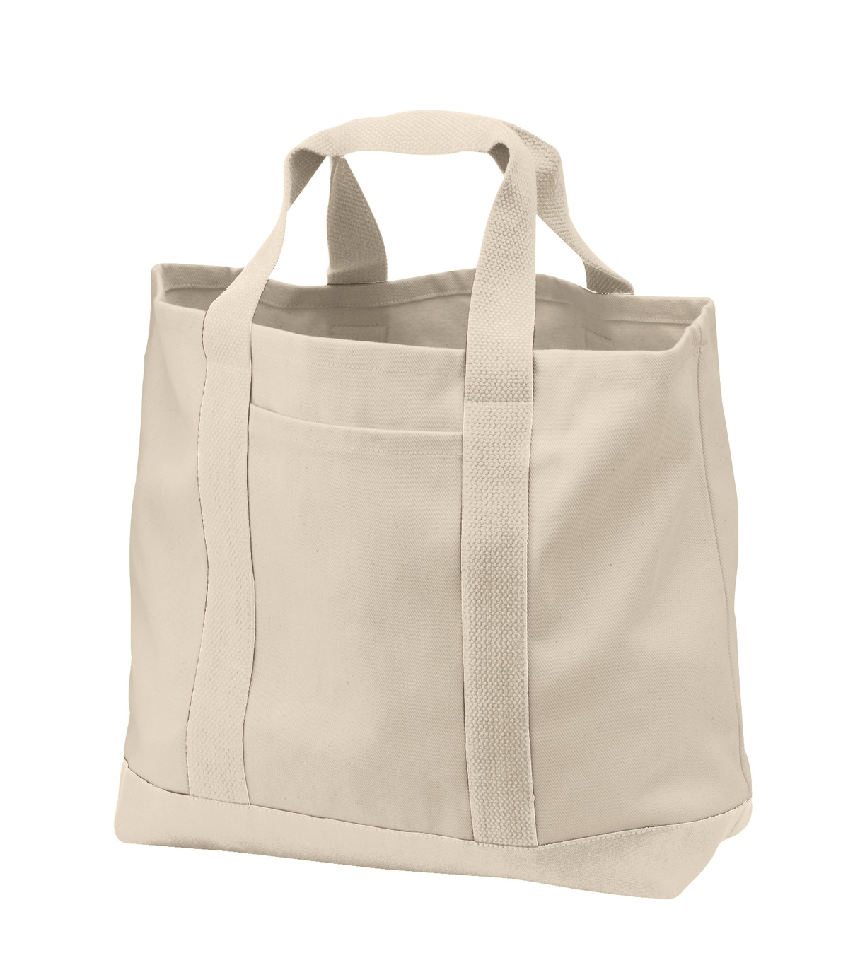 Port Authority ®  - Two-Tone Shopping Tote.  B400 - Natural/ Natural