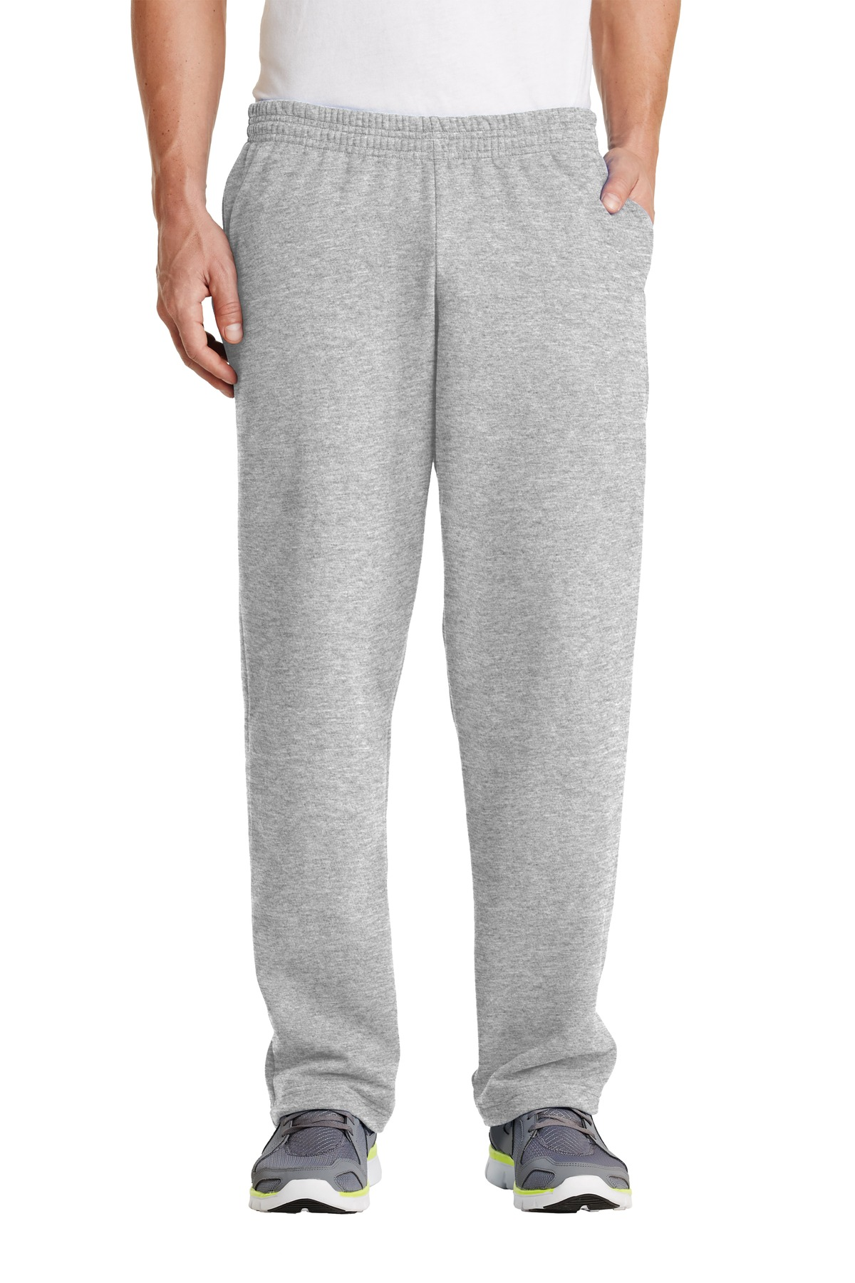 Port & Company ®  - Core Fleece Sweatpant with Pockets. PC78P - Ash