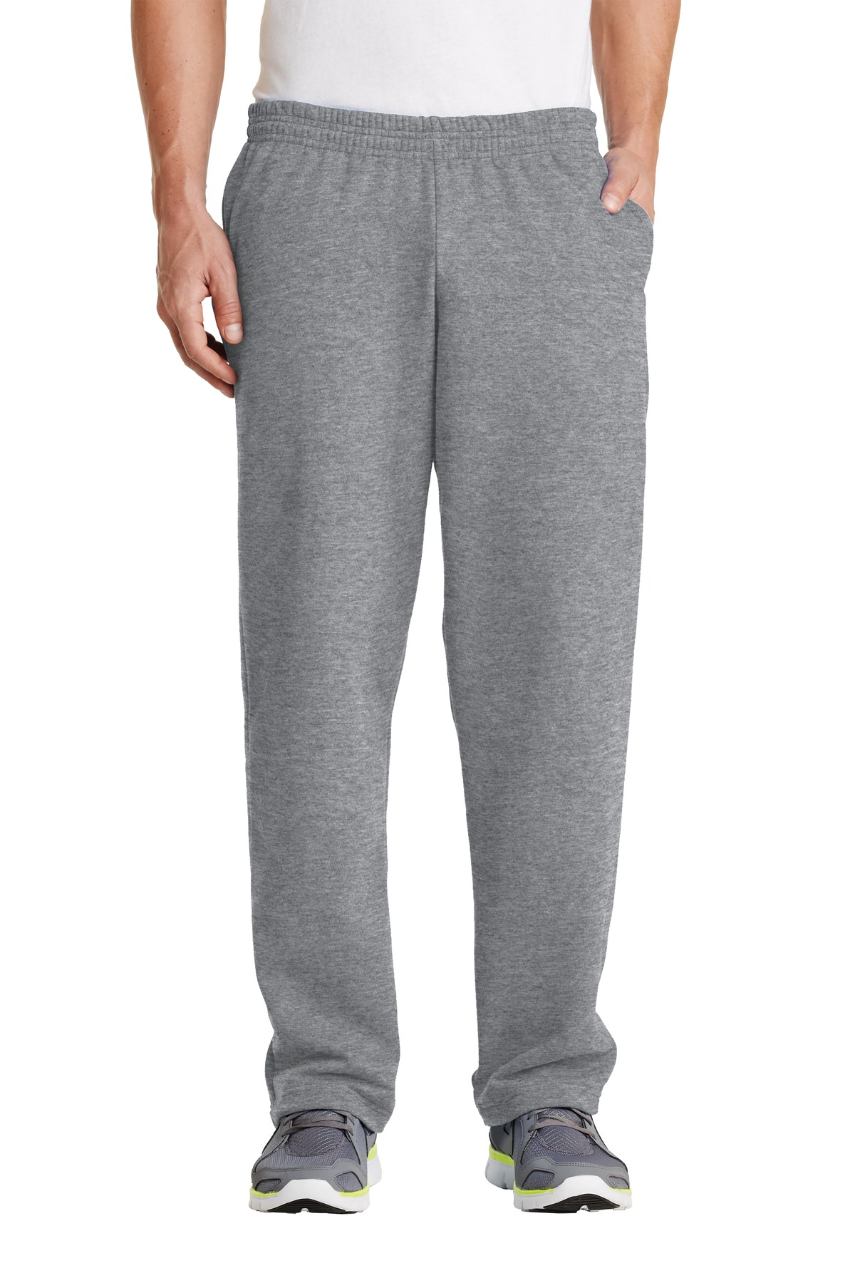 Port & Company ®  - Core Fleece Sweatpant with Pockets. PC78P - Athletic Heather