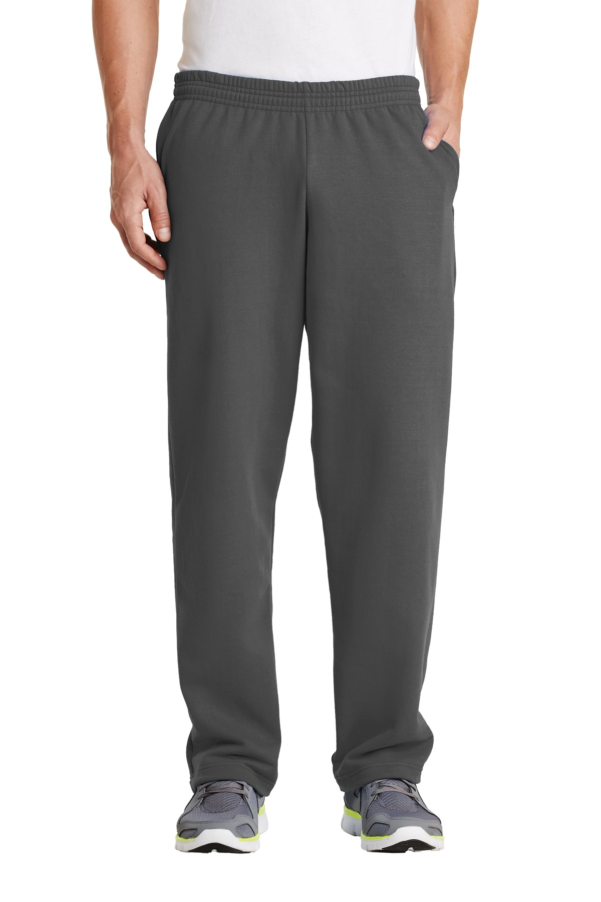 Port & Company ®  - Core Fleece Sweatpant with Pockets. PC78P - Charcoal