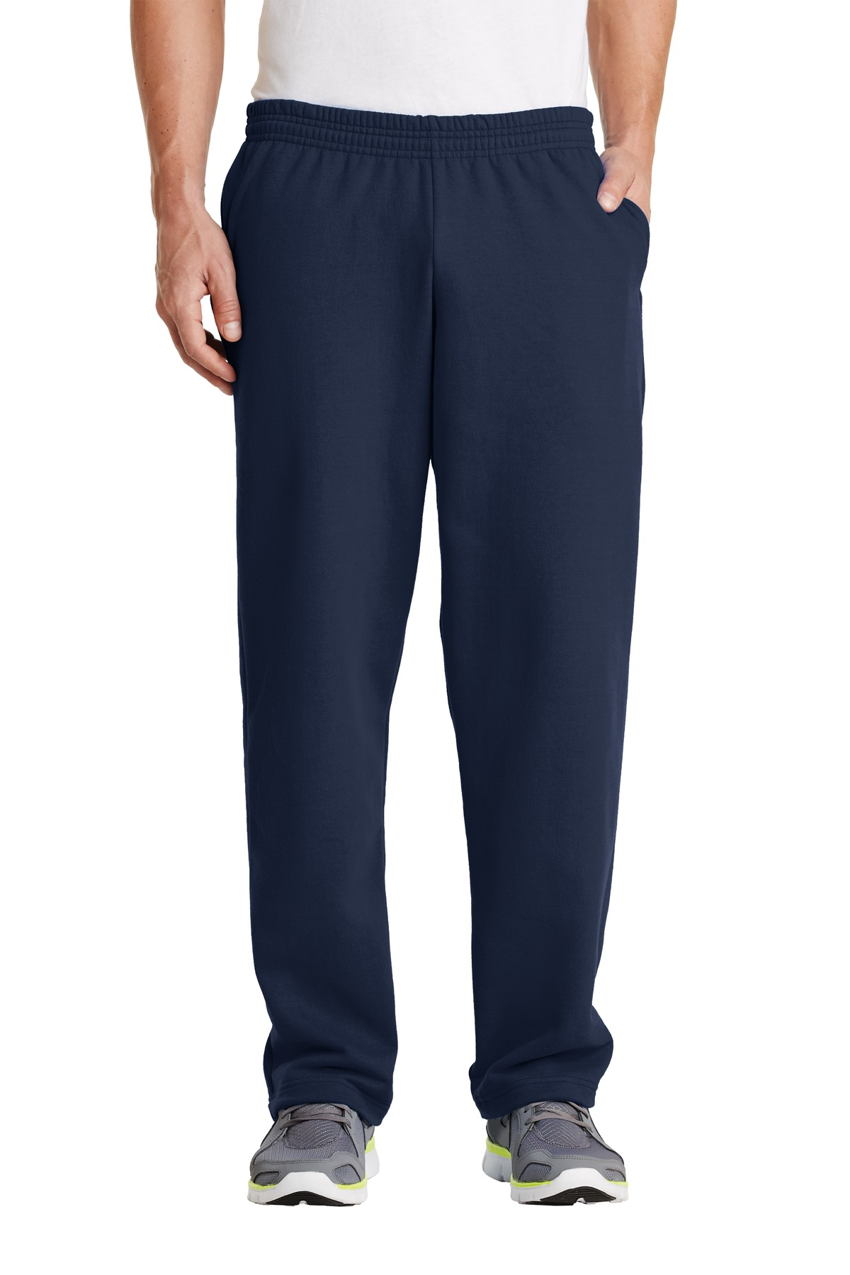 Port & Company ®  - Core Fleece Sweatpant with Pockets. PC78P - Navy