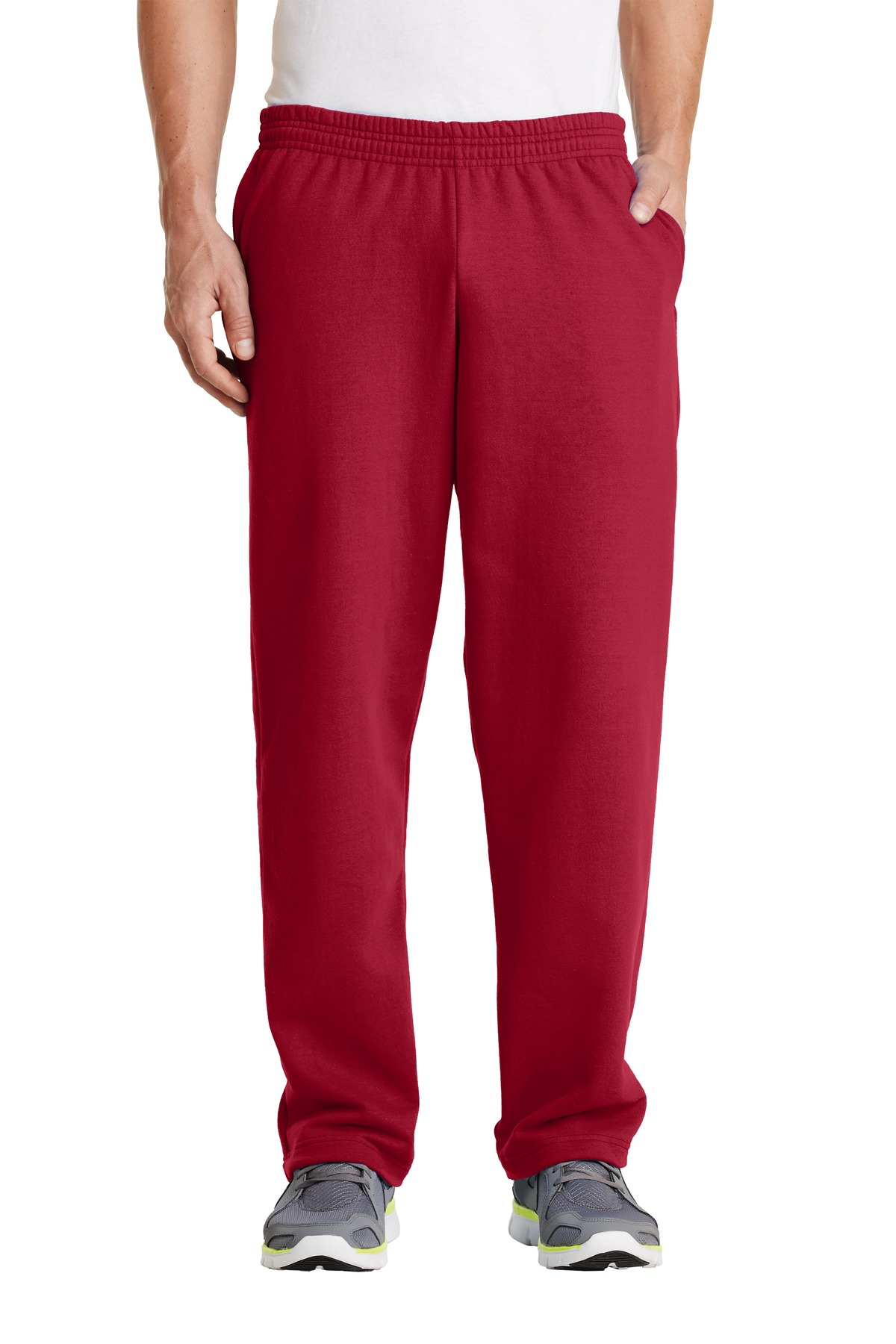 Port & Company ®  - Core Fleece Sweatpant with Pockets. PC78P - Red