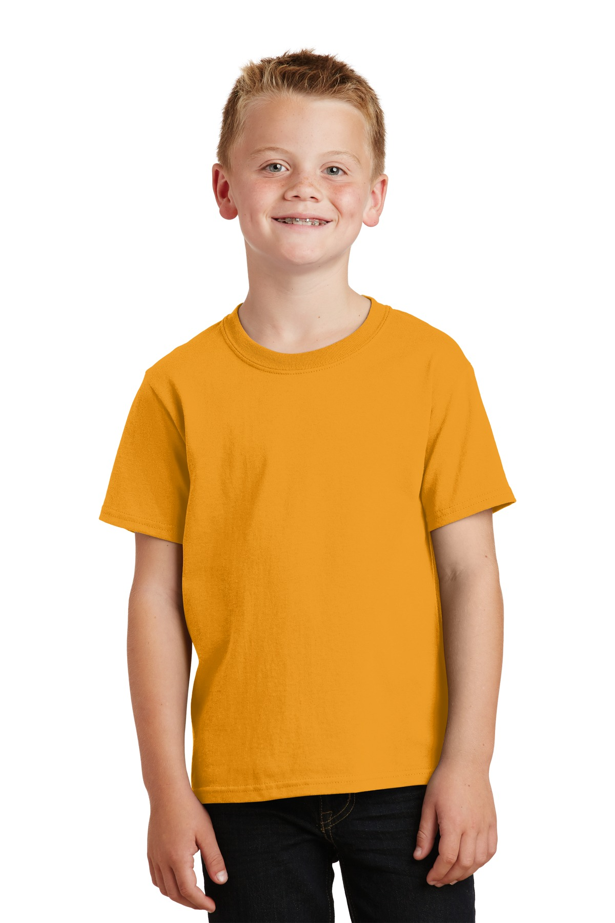 Port & Company ®  - Youth Core Cotton Tee. PC54Y - Gold