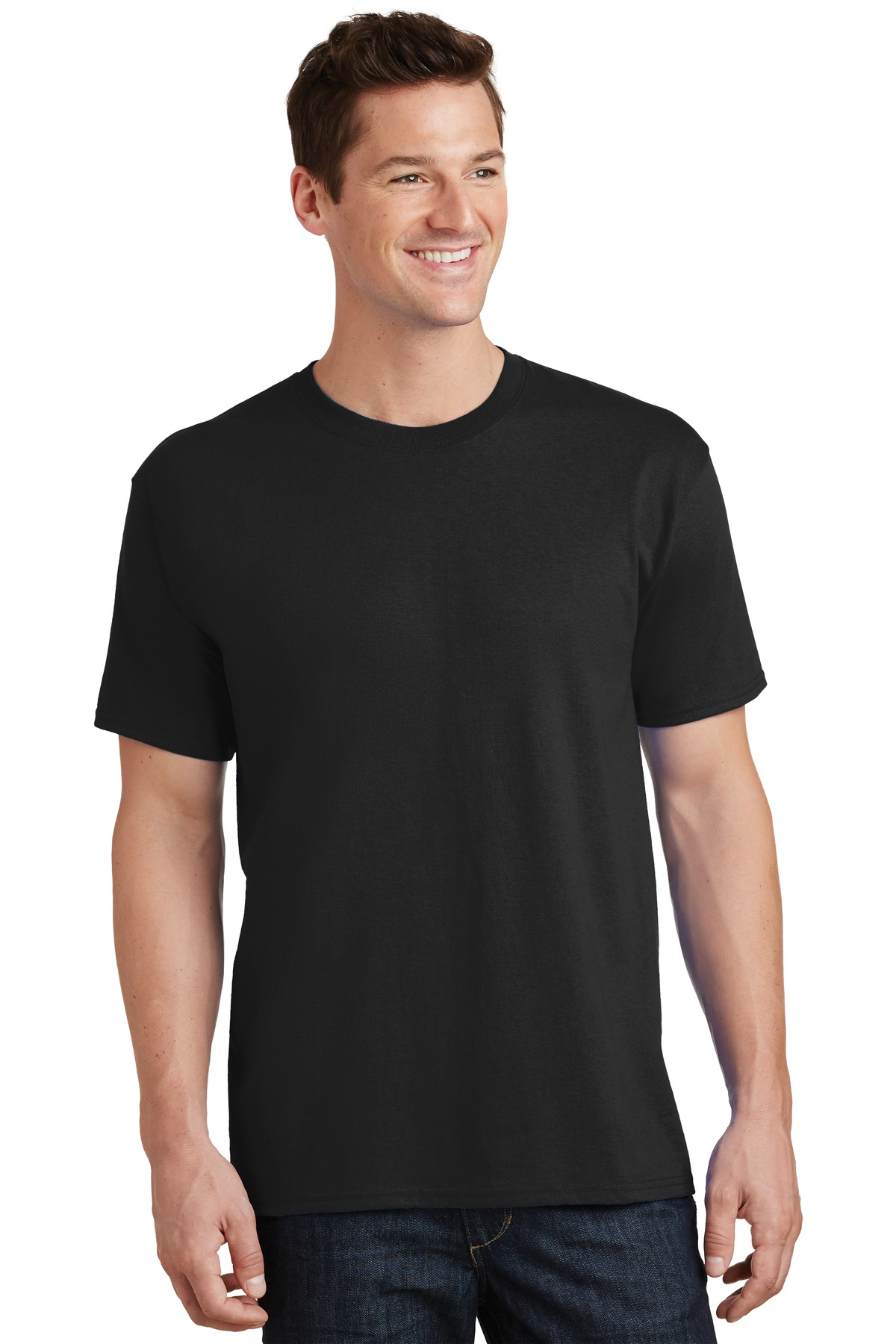 Port & Company ®  - Core Cotton Tee. PC54 - Jet Black