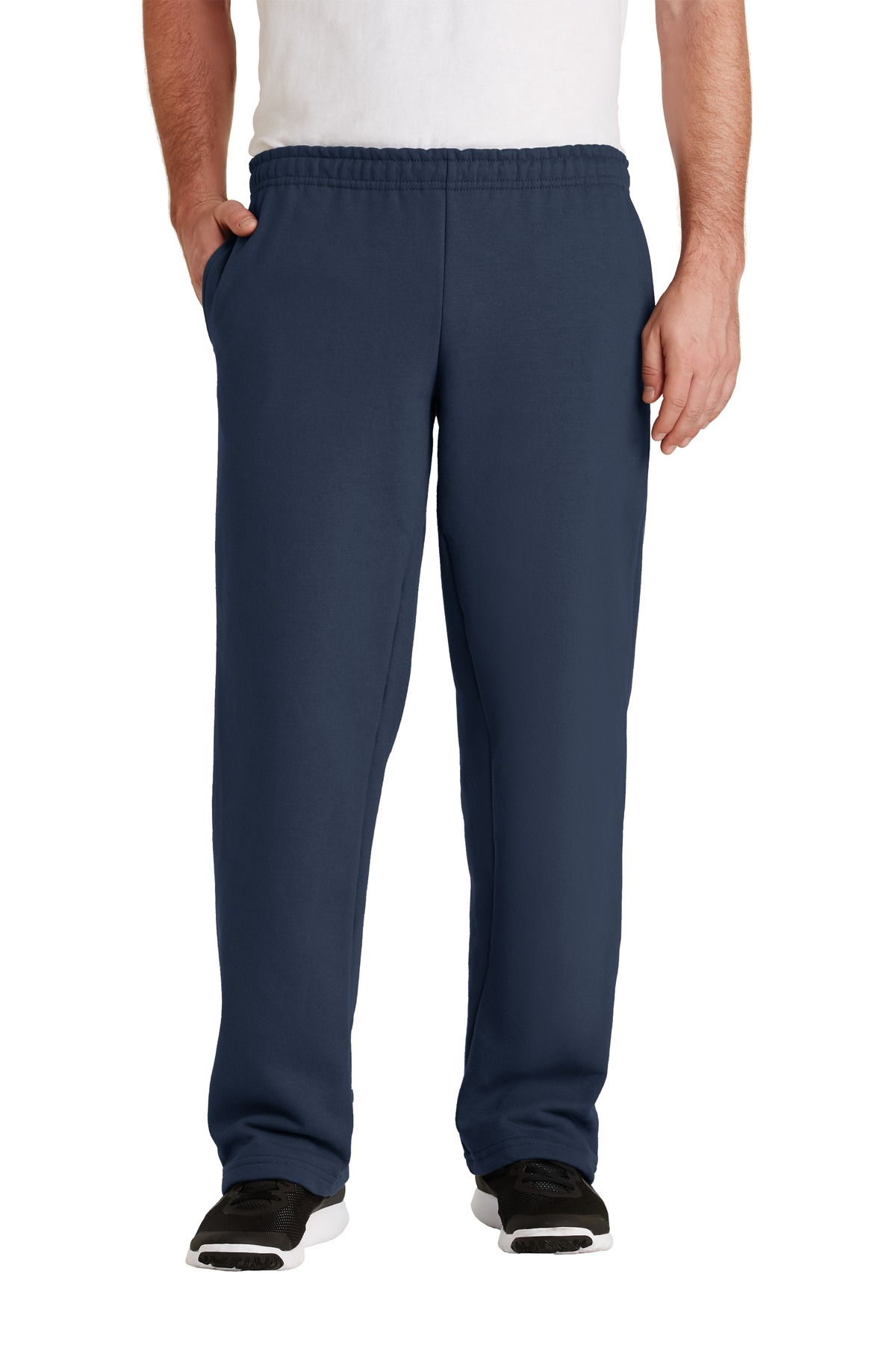 Gildan ®  - DryBlend ®  Open Bottom Sweatpant. 12300 - Navy