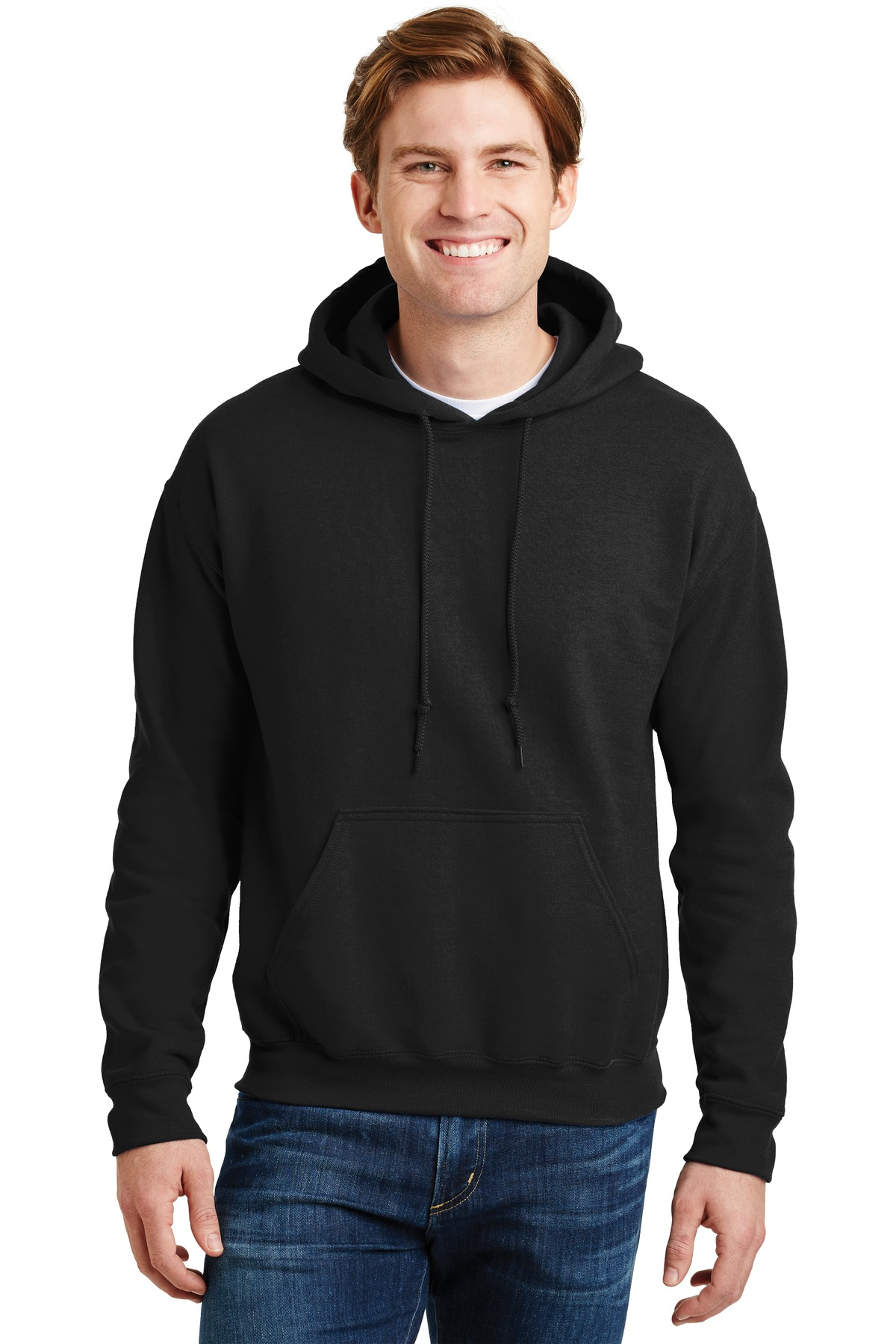 Gildan ®  - DryBlend ®  Pullover Hooded Sweatshirt.  12500 - Black