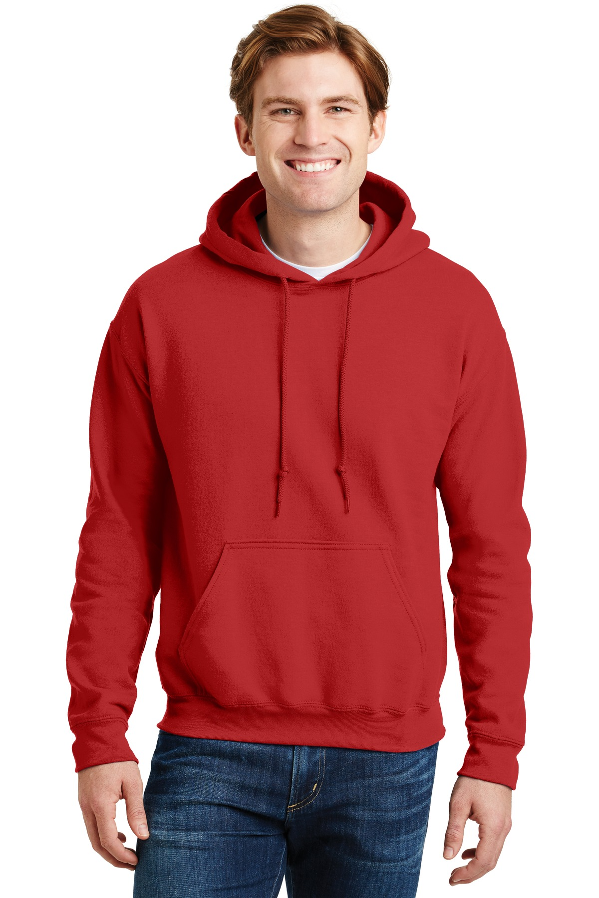 Gildan ®  - DryBlend ®  Pullover Hooded Sweatshirt.  12500 - Red