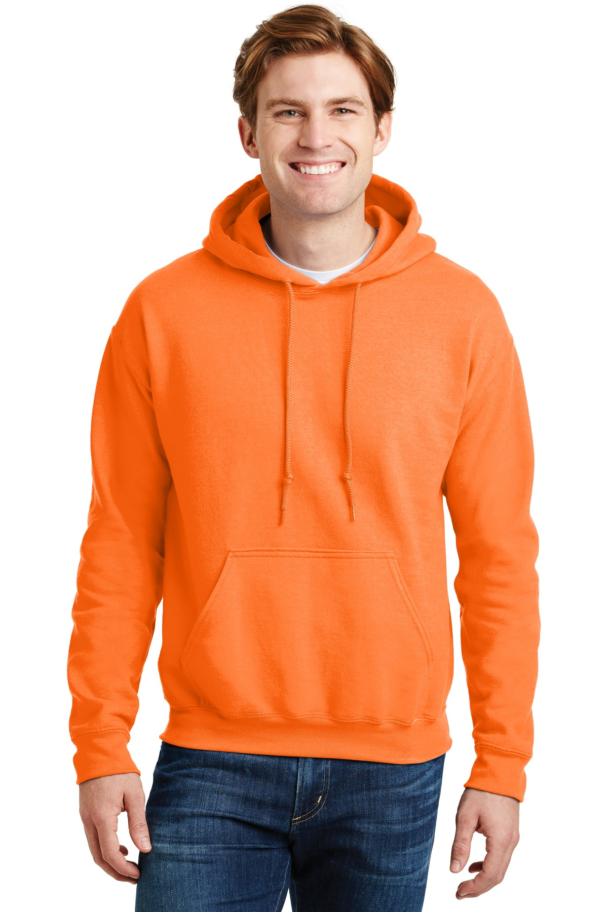 Gildan ®  - DryBlend ®  Pullover Hooded Sweatshirt.  12500 - S. Orange