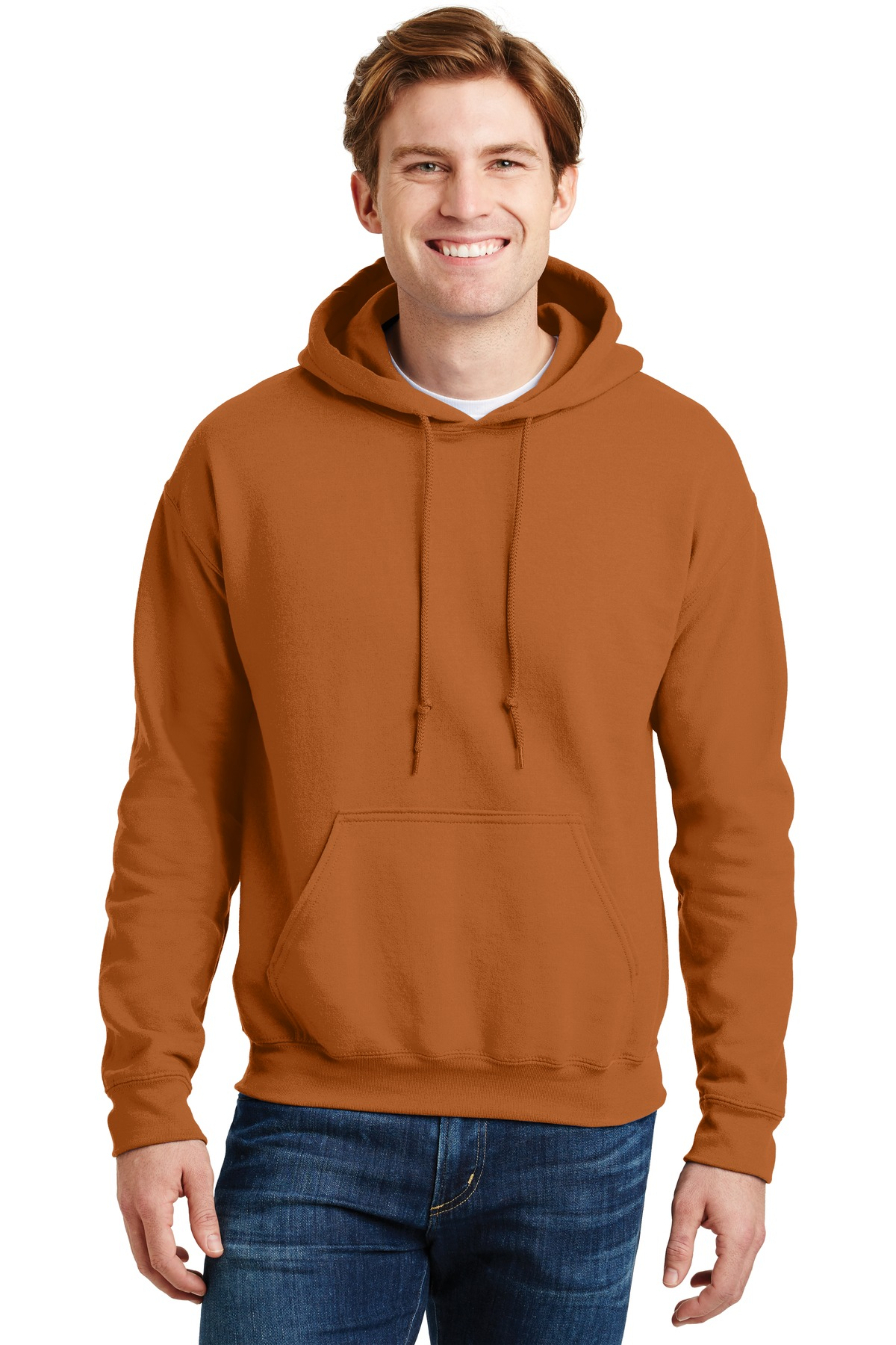 Gildan ®  - DryBlend ®  Pullover Hooded Sweatshirt.  12500 - Texas Orange
