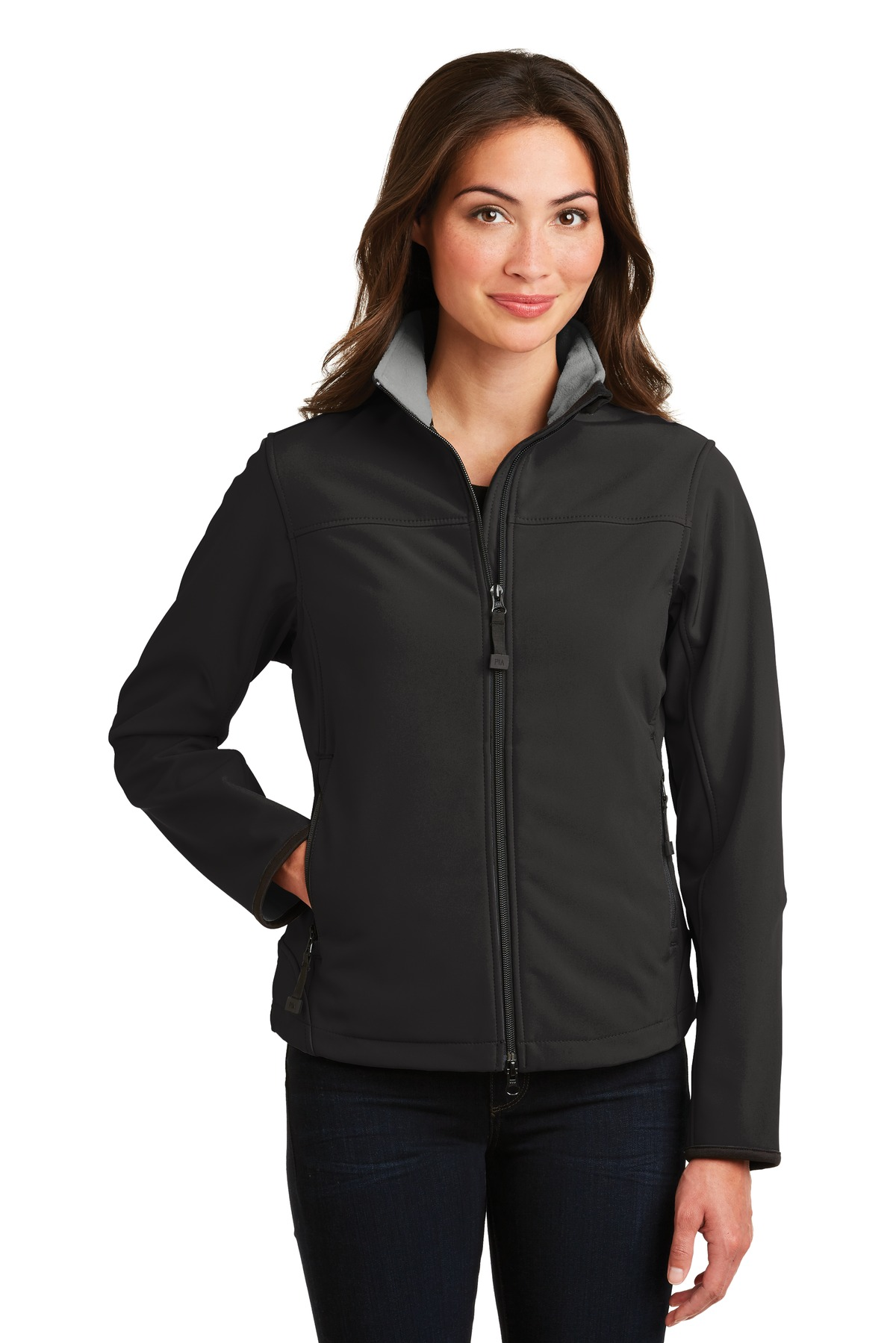 Port Authority ® Ladies Glacier ® Soft Shell Jacket. L790 ...