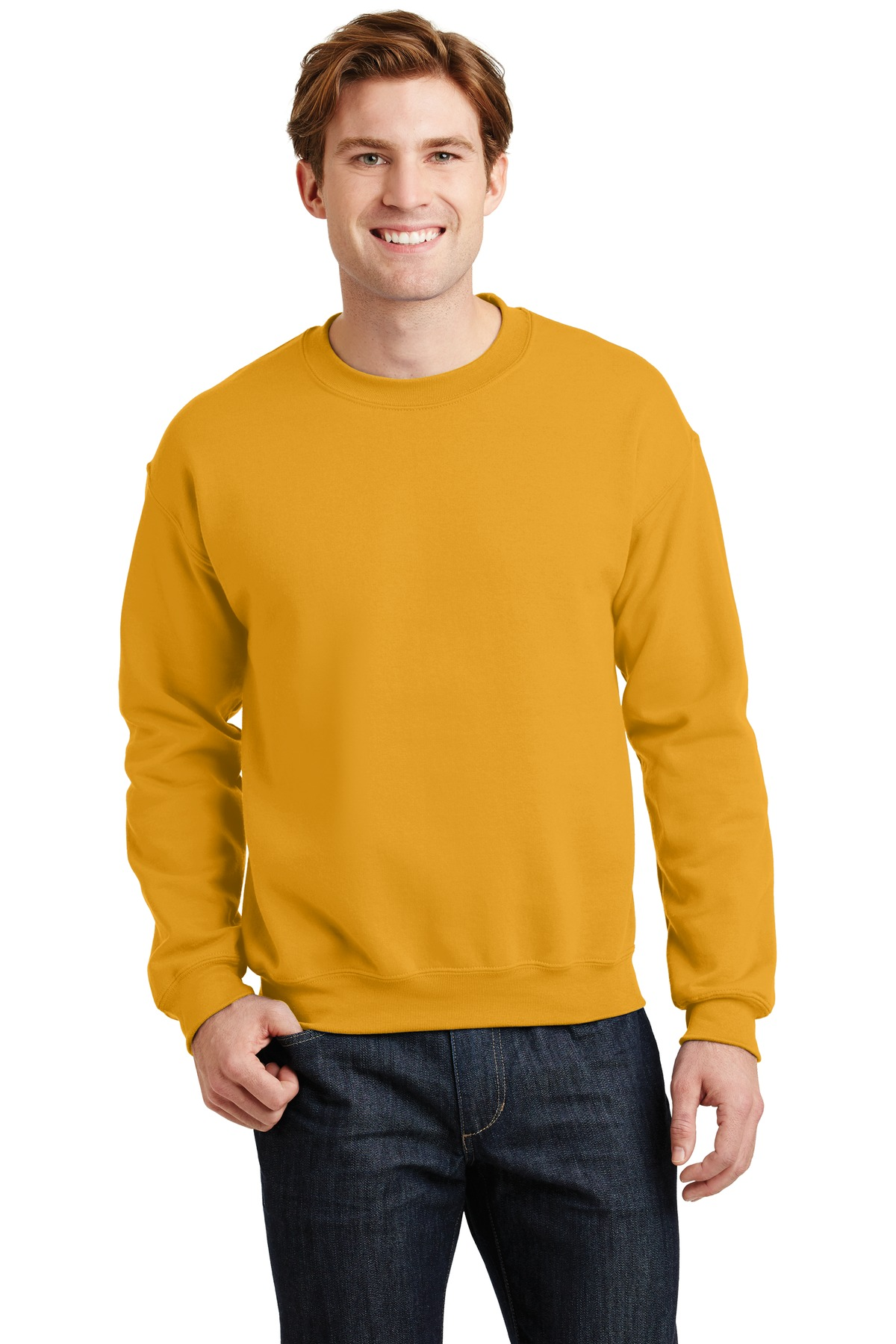 Gildan ®  - Heavy Blend™ Crewneck Sweatshirt.  18000 - Gold