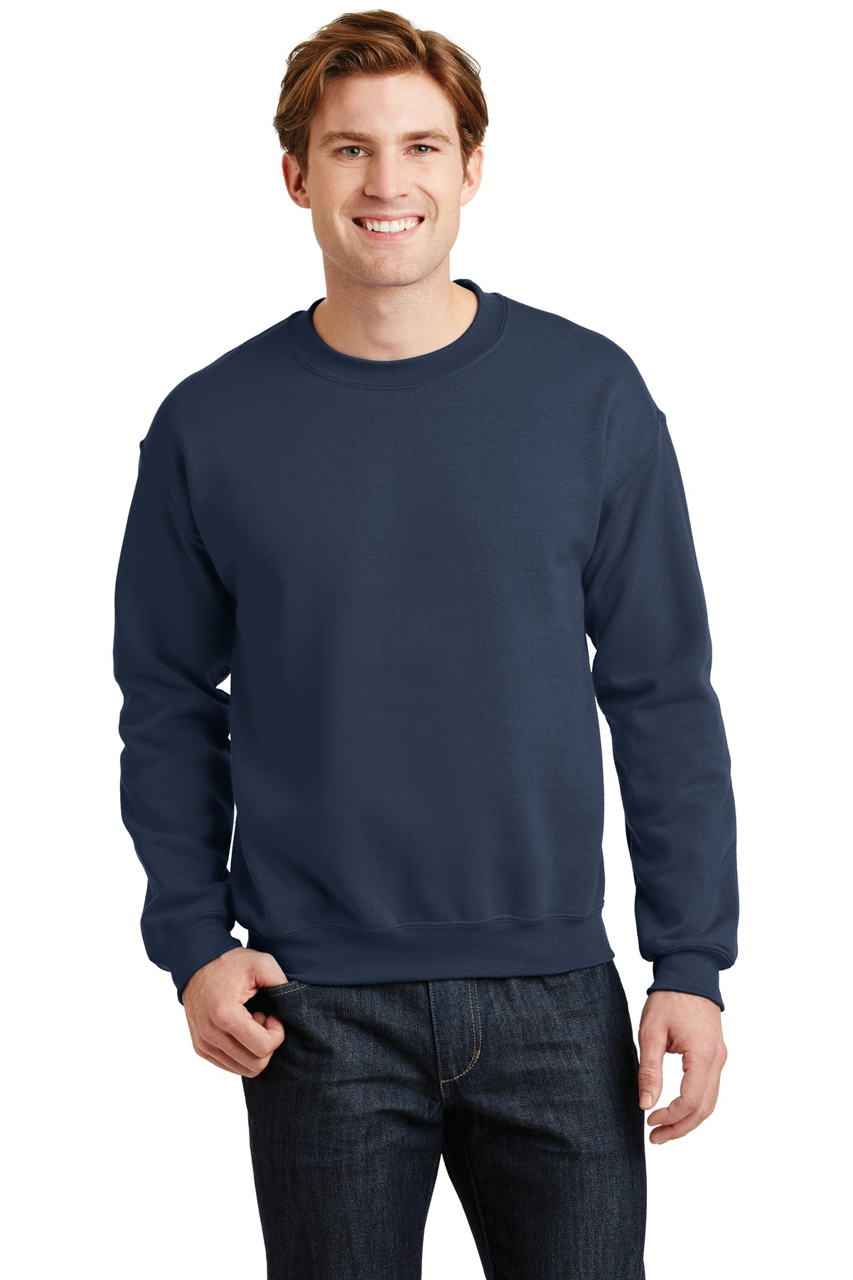 Gildan ®  - Heavy Blend™ Crewneck Sweatshirt.  18000 - Navy