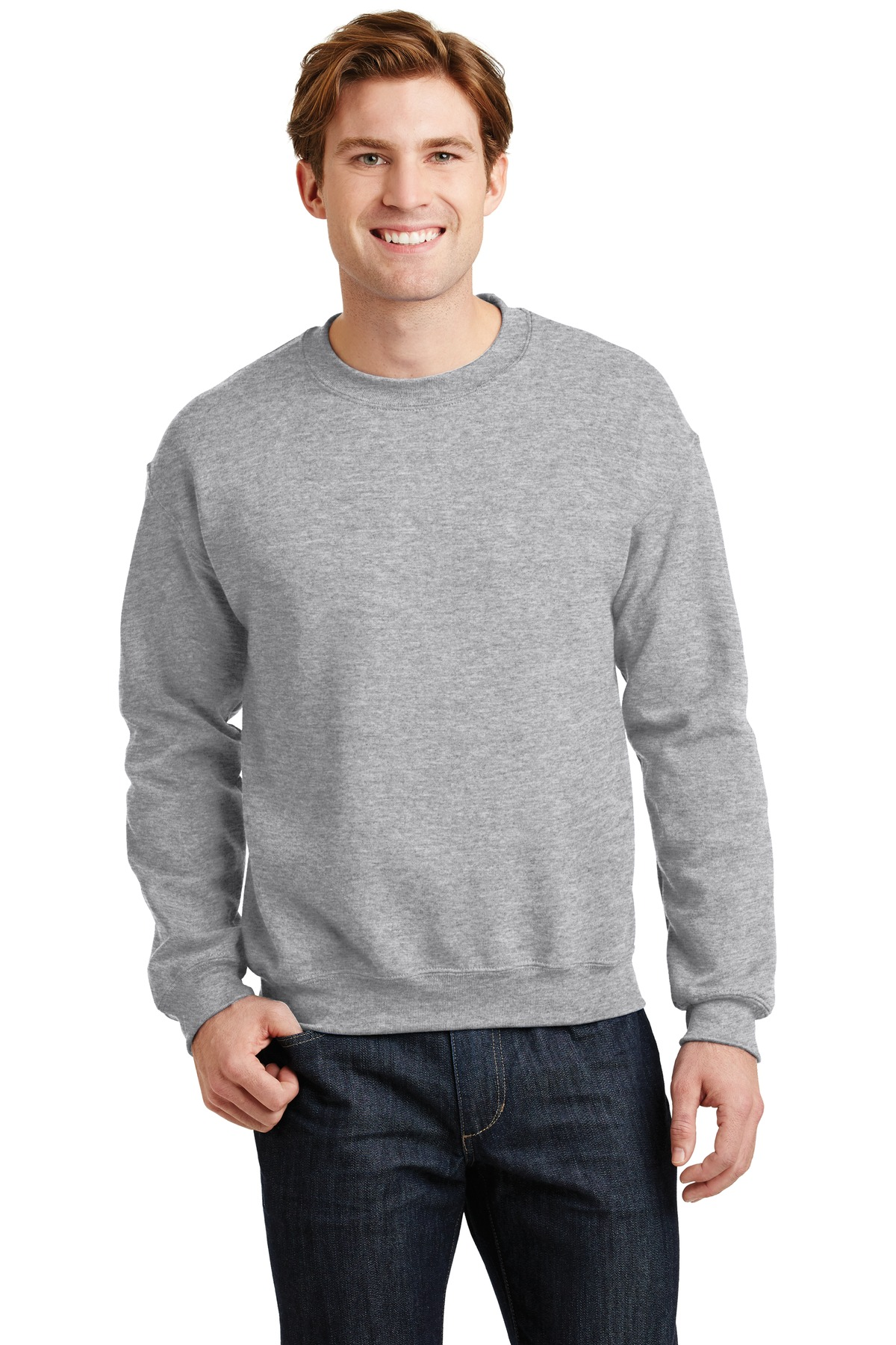 Gildan ®  - Heavy Blend™ Crewneck Sweatshirt.  18000 - Sport Grey