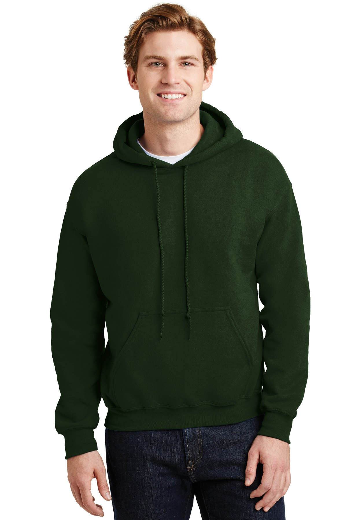 Gildan ®  - Heavy Blend ™  Hooded Sweatshirt.  18500 - Forest