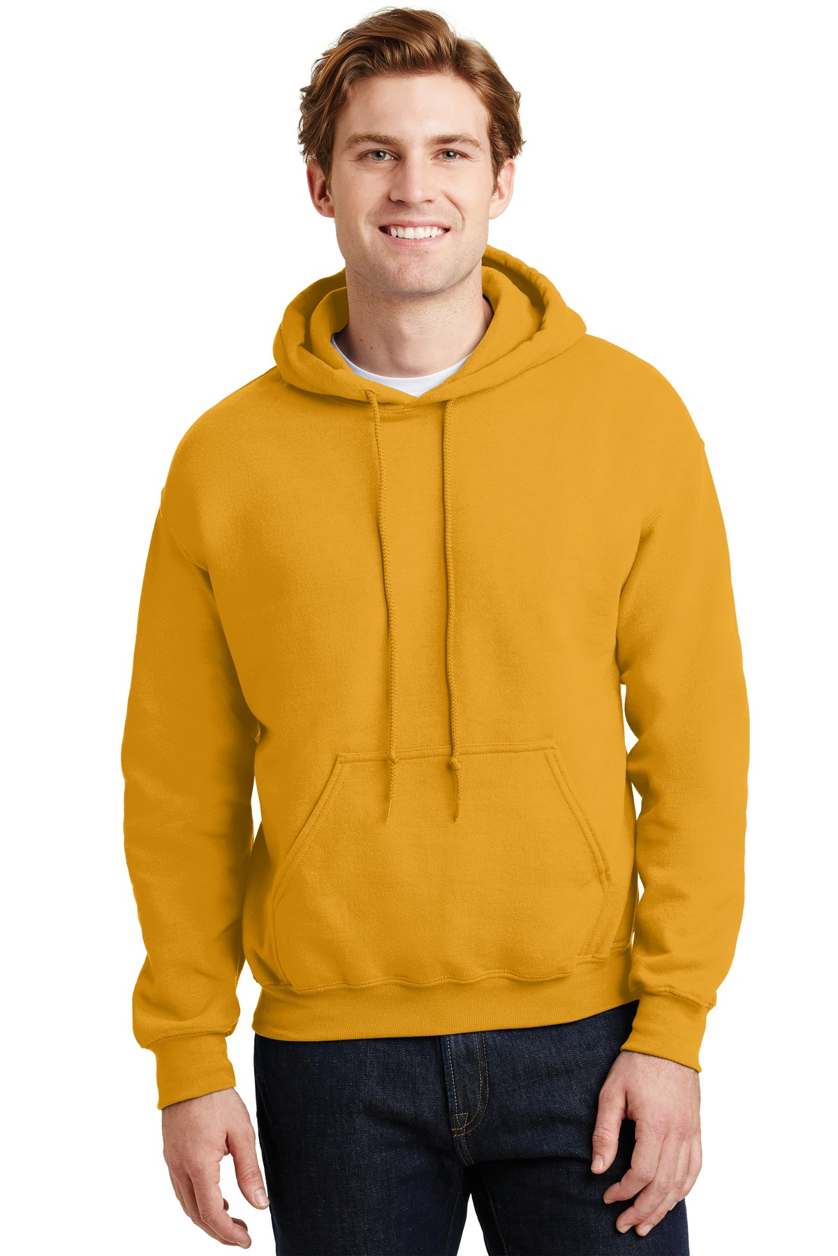Gildan ®  - Heavy Blend ™  Hooded Sweatshirt.  18500 - Gold
