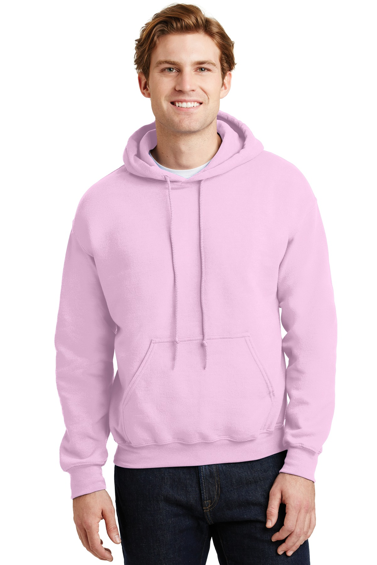 Gildan ®  - Heavy Blend ™  Hooded Sweatshirt.  18500 - Light Pink