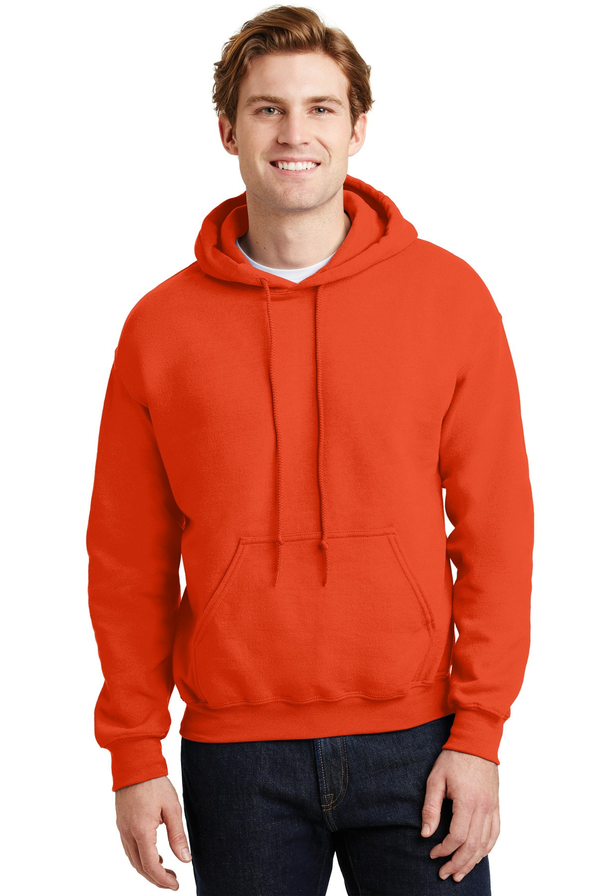 Gildan ®  - Heavy Blend ™  Hooded Sweatshirt.  18500 - Orange