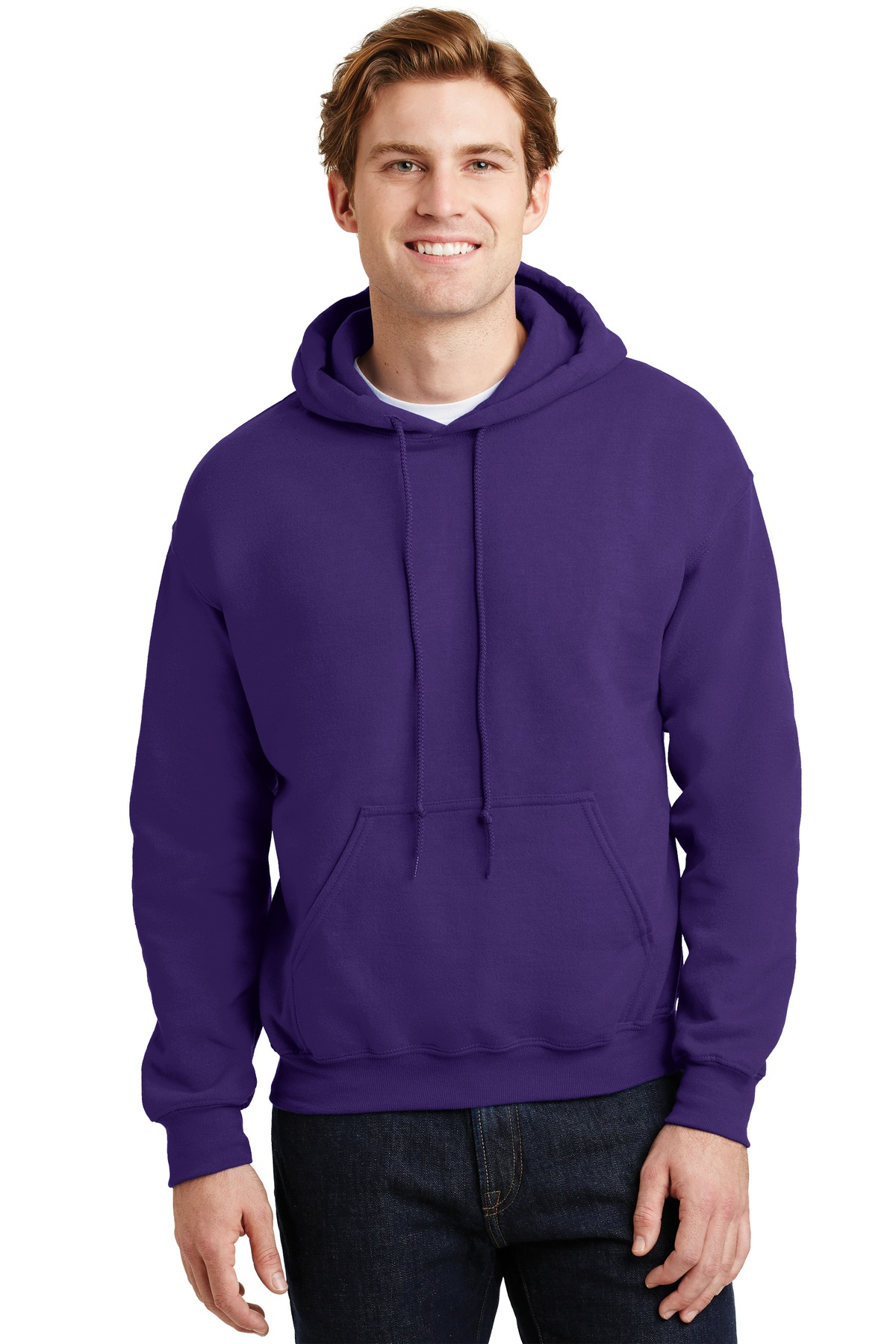 Gildan ®  - Heavy Blend ™  Hooded Sweatshirt.  18500 - Purple