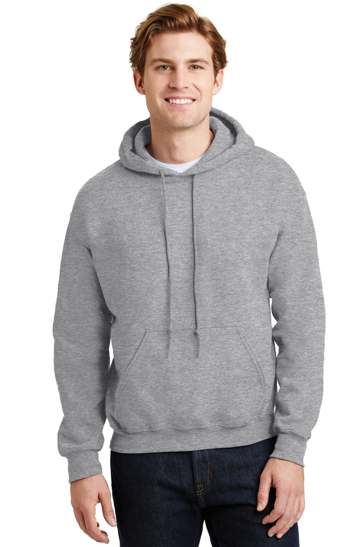 Gildan ®  - Heavy Blend ™  Hooded Sweatshirt.  18500 - Sport Grey