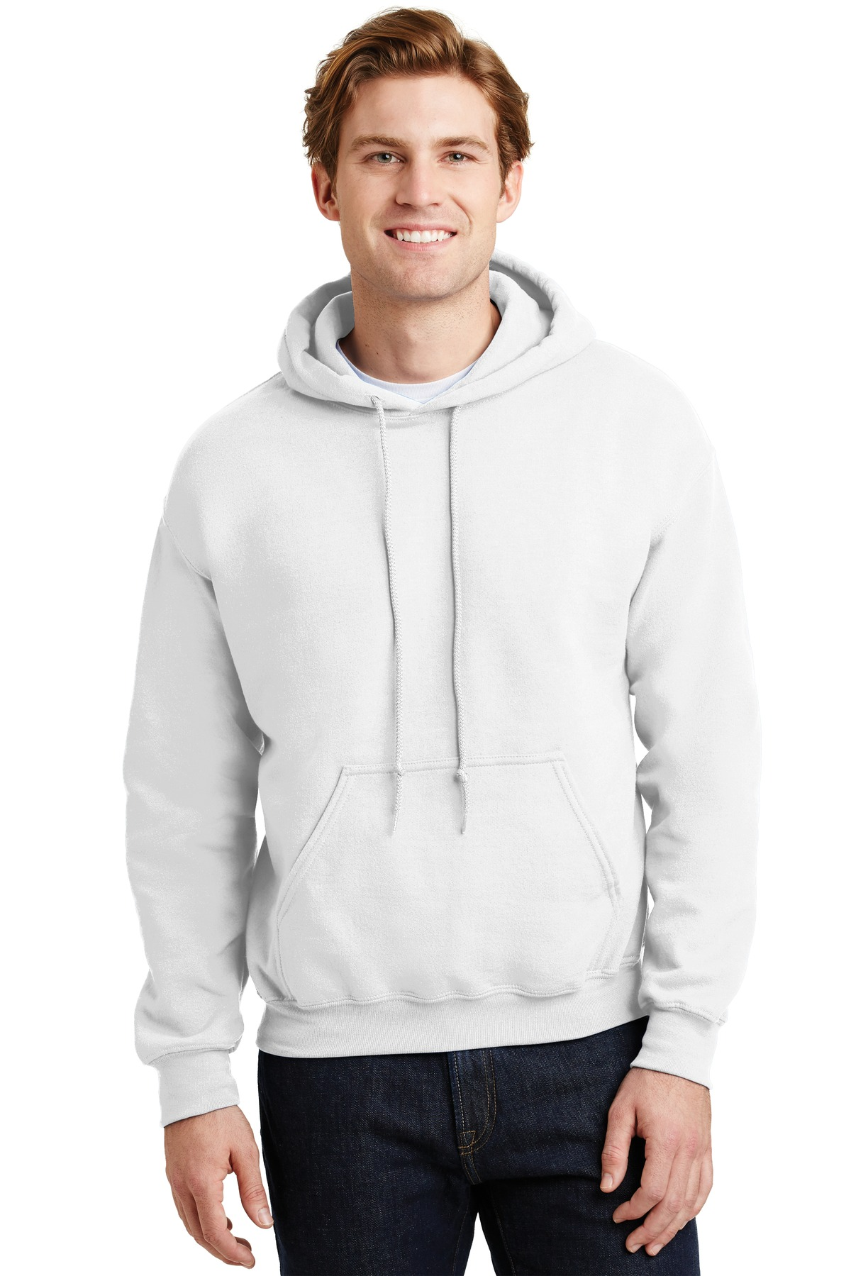 Gildan ®  - Heavy Blend ™  Hooded Sweatshirt.  18500 - White