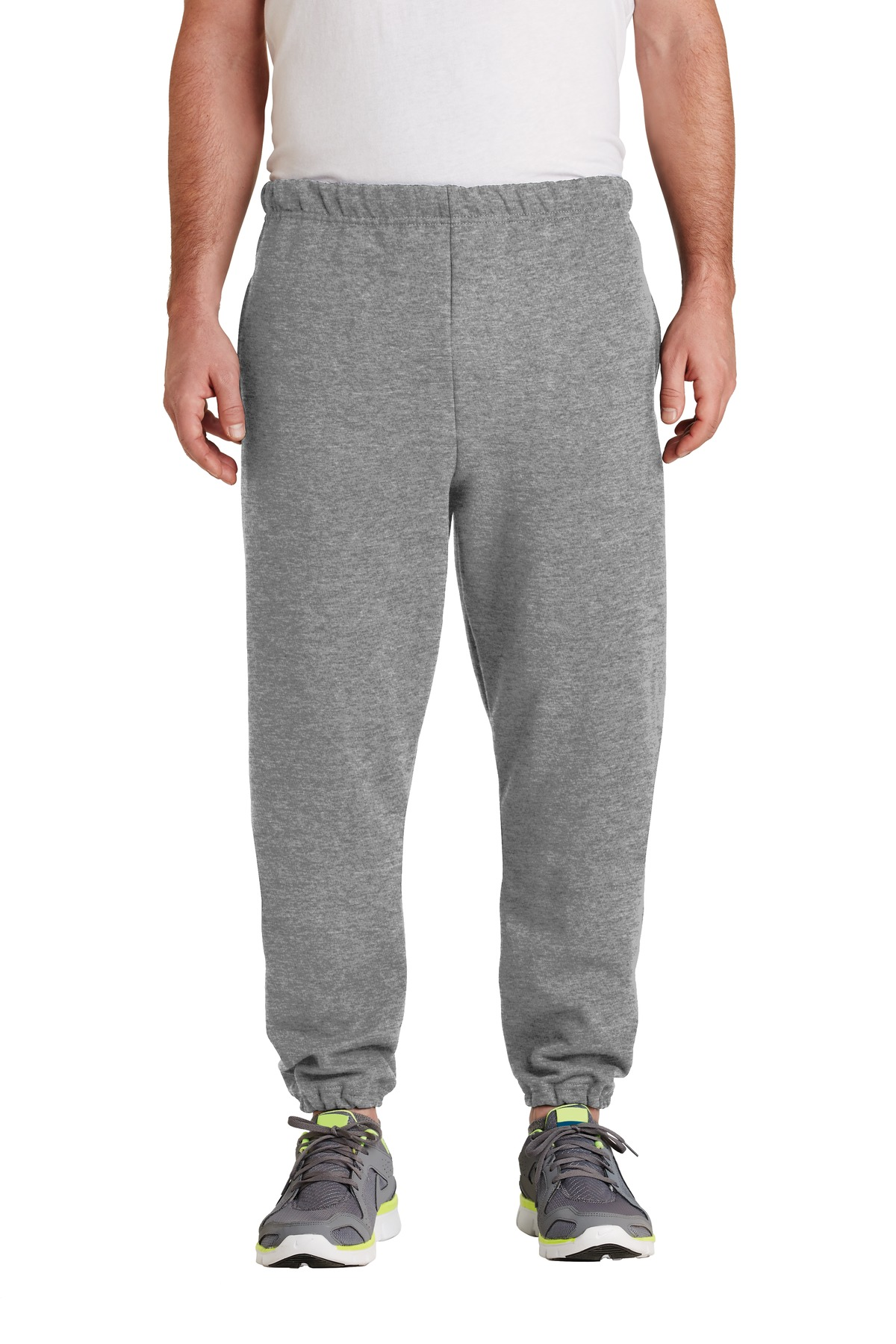JERZEES ®  SUPER SWEATS ®  NuBlend ®  - Sweatpant with Pockets.  4850MP - Oxford