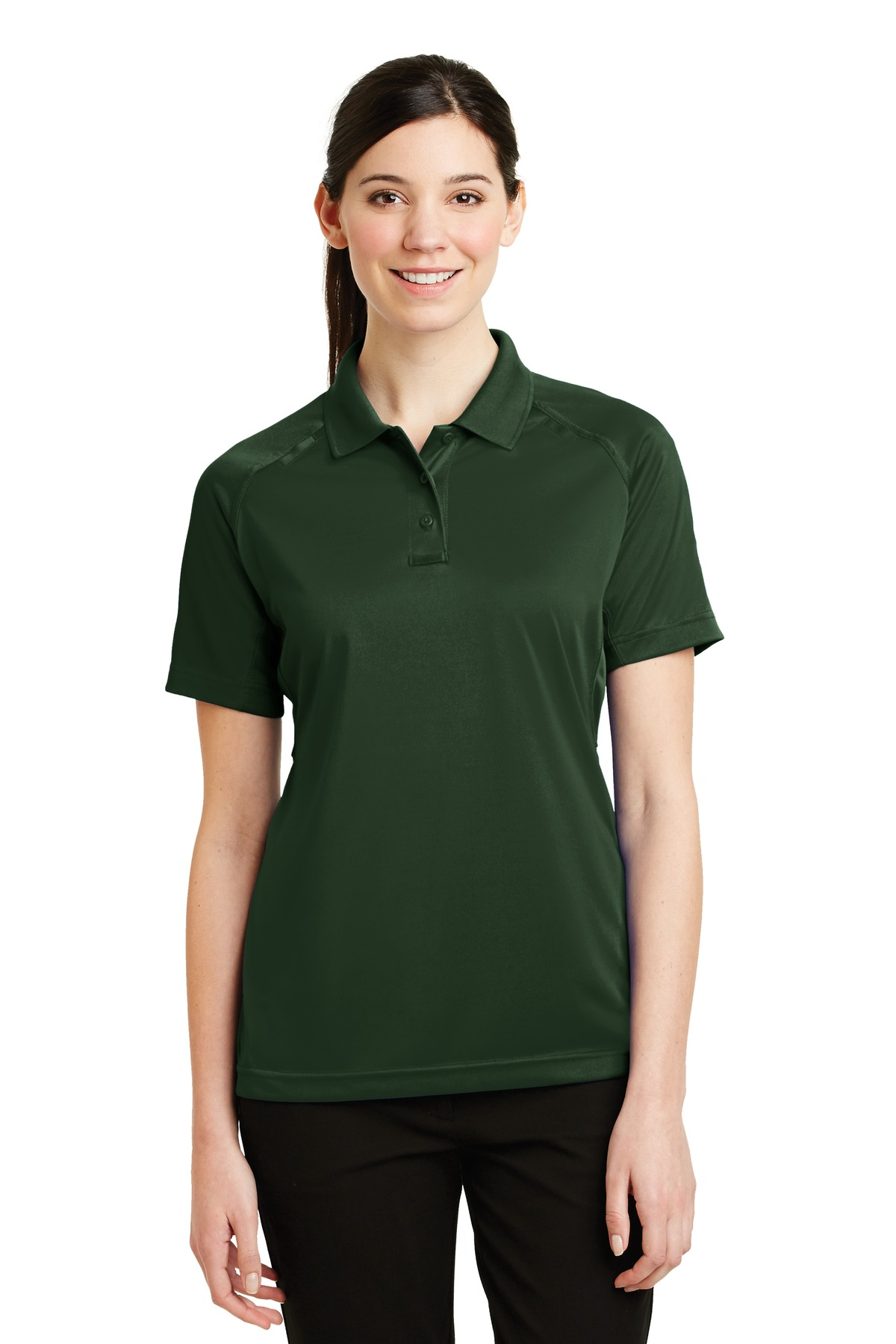 CornerStone ®  - Ladies Select Snag-Proof Tactical Polo. CS411 - Dark Green