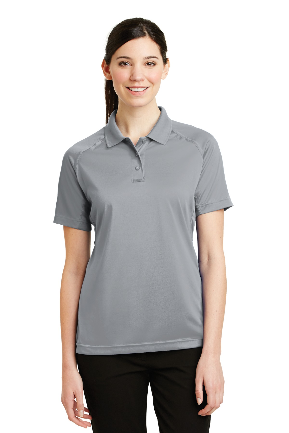 CornerStone ®  - Ladies Select Snag-Proof Tactical Polo. CS411 - Light Grey