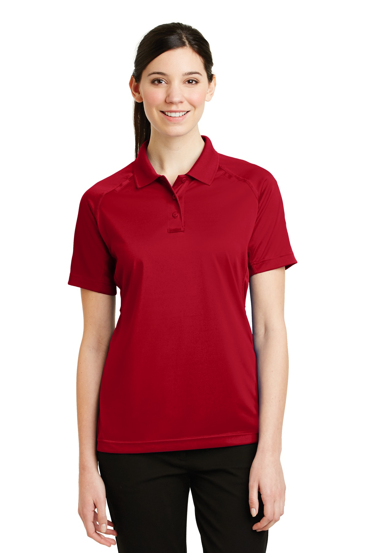 CornerStone ®  - Ladies Select Snag-Proof Tactical Polo. CS411 - Red