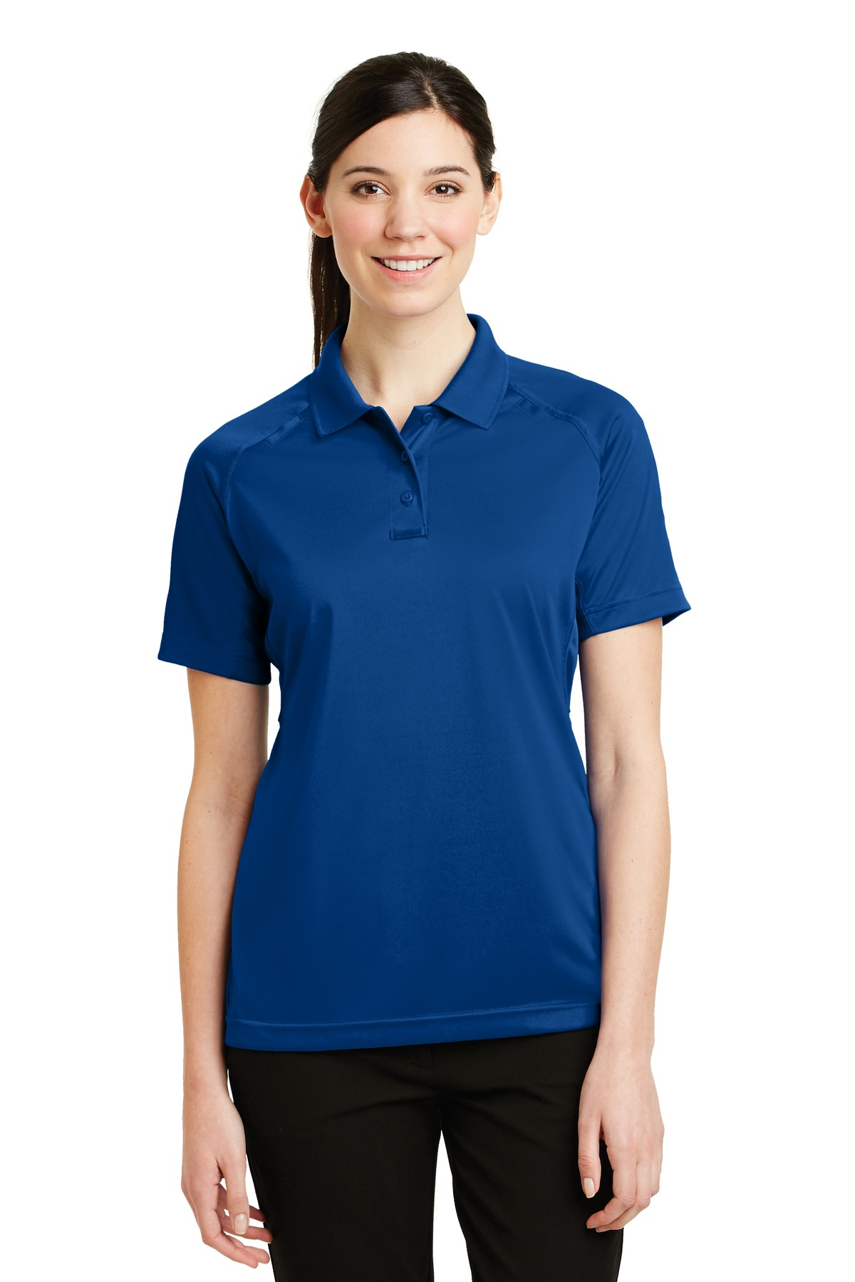 CornerStone ®  - Ladies Select Snag-Proof Tactical Polo. CS411 - Royal