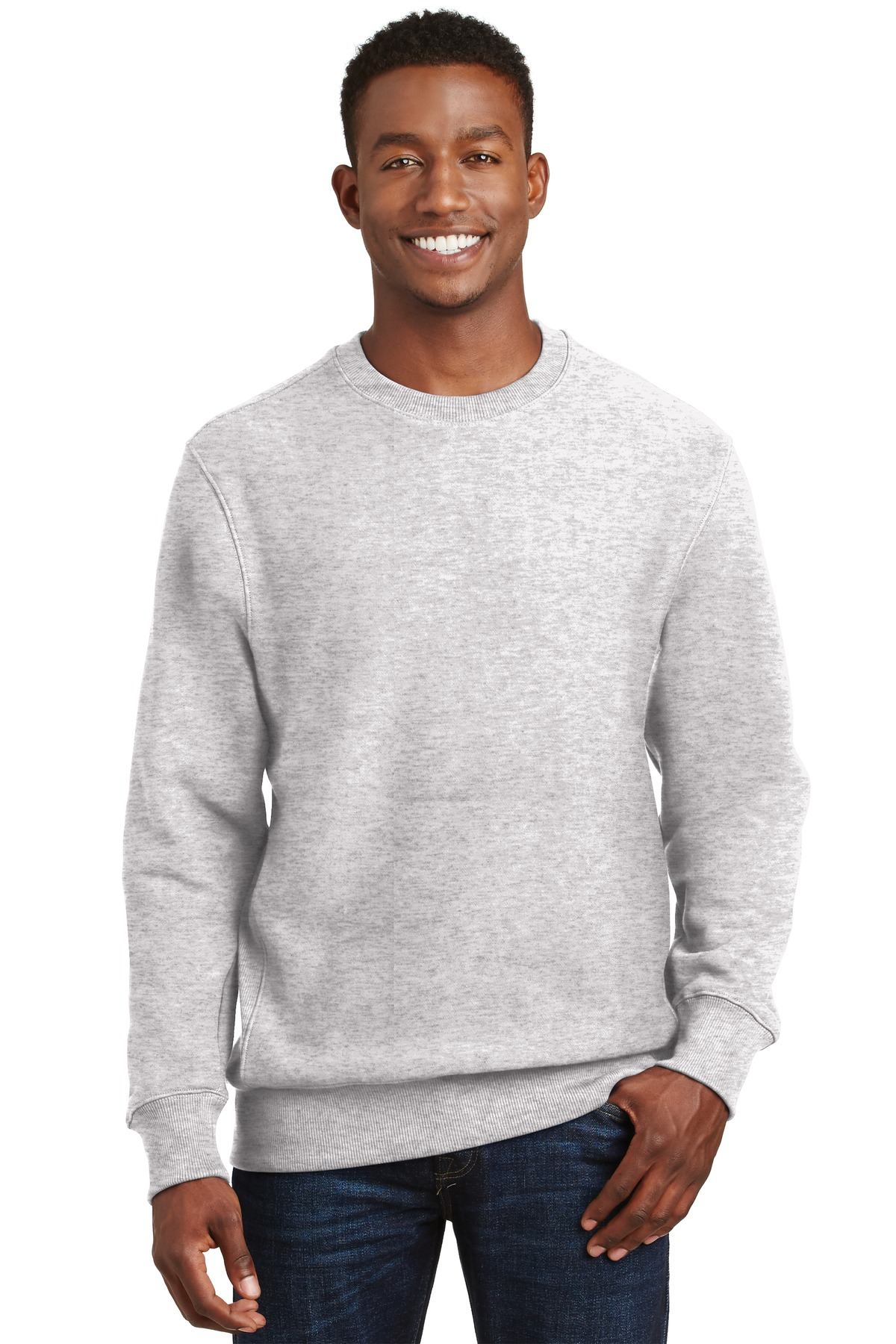 Sport-Tek ®  Super Heavyweight Crewneck Sweatshirt.  F280 - Athletic Heather