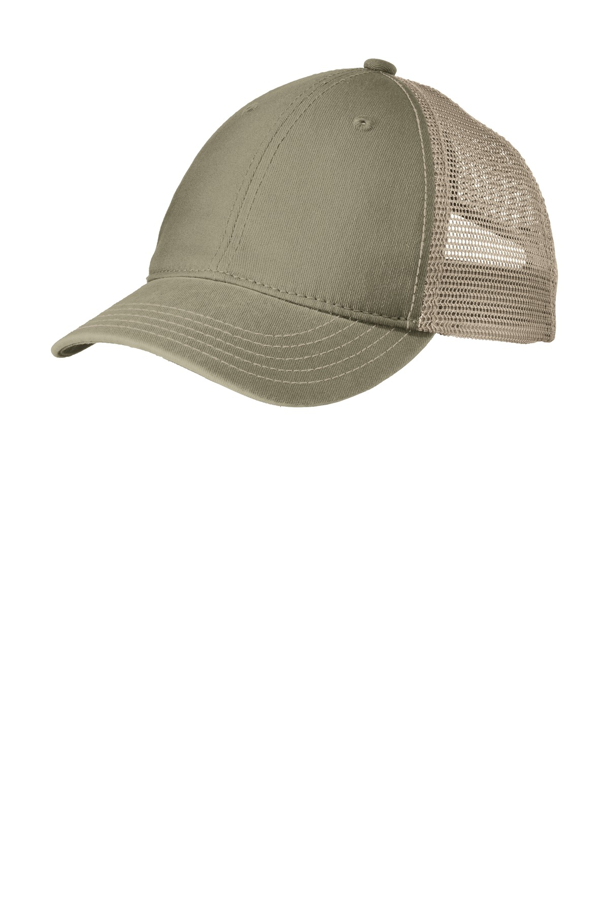 District ®  Super Soft Mesh Back Cap. DT630 - Olive/ Khaki
