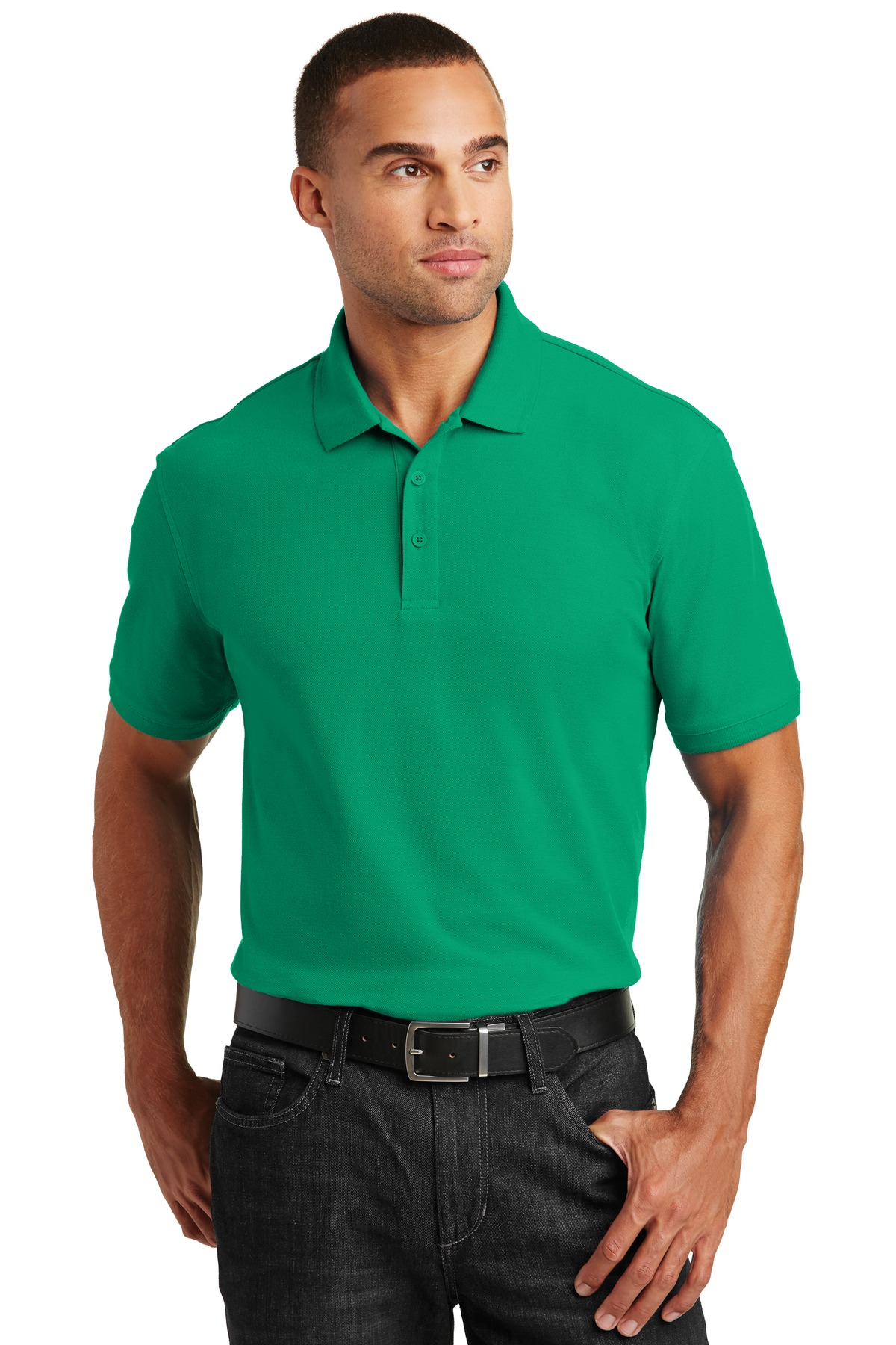 Port Authority ®  Core Classic Pique Polo. K100 - Bright Kelly Green