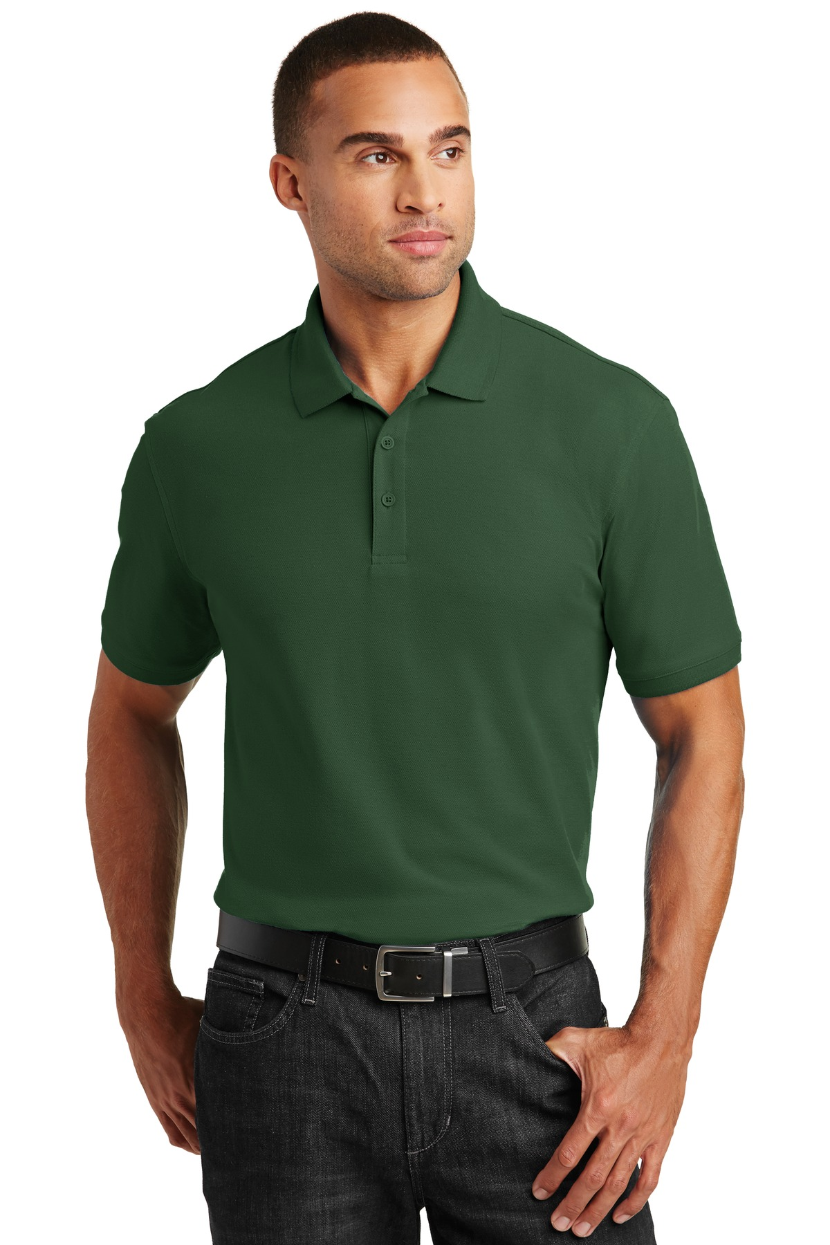 Port Authority ®  Core Classic Pique Polo. K100 - Deep Forest Green