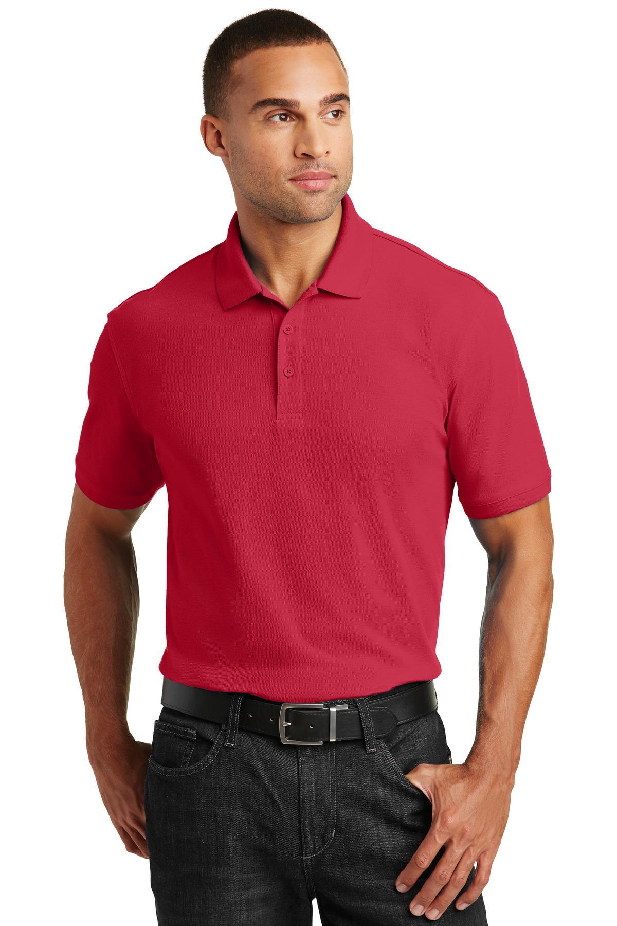 Port Authority ®  Core Classic Pique Polo. K100 - Rich Red