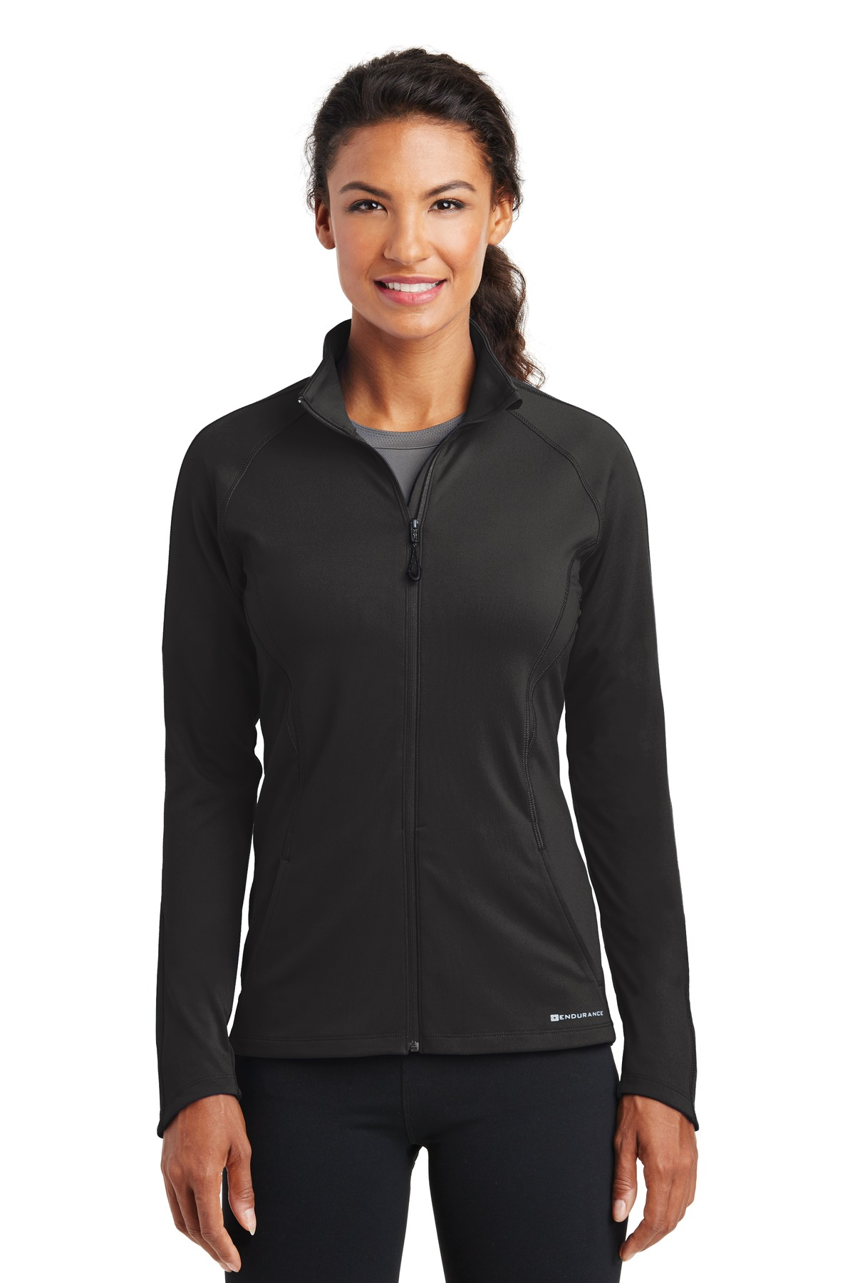 OGIO ®  ENDURANCE Ladies Radius Full-Zip. LOE551 - Blacktop