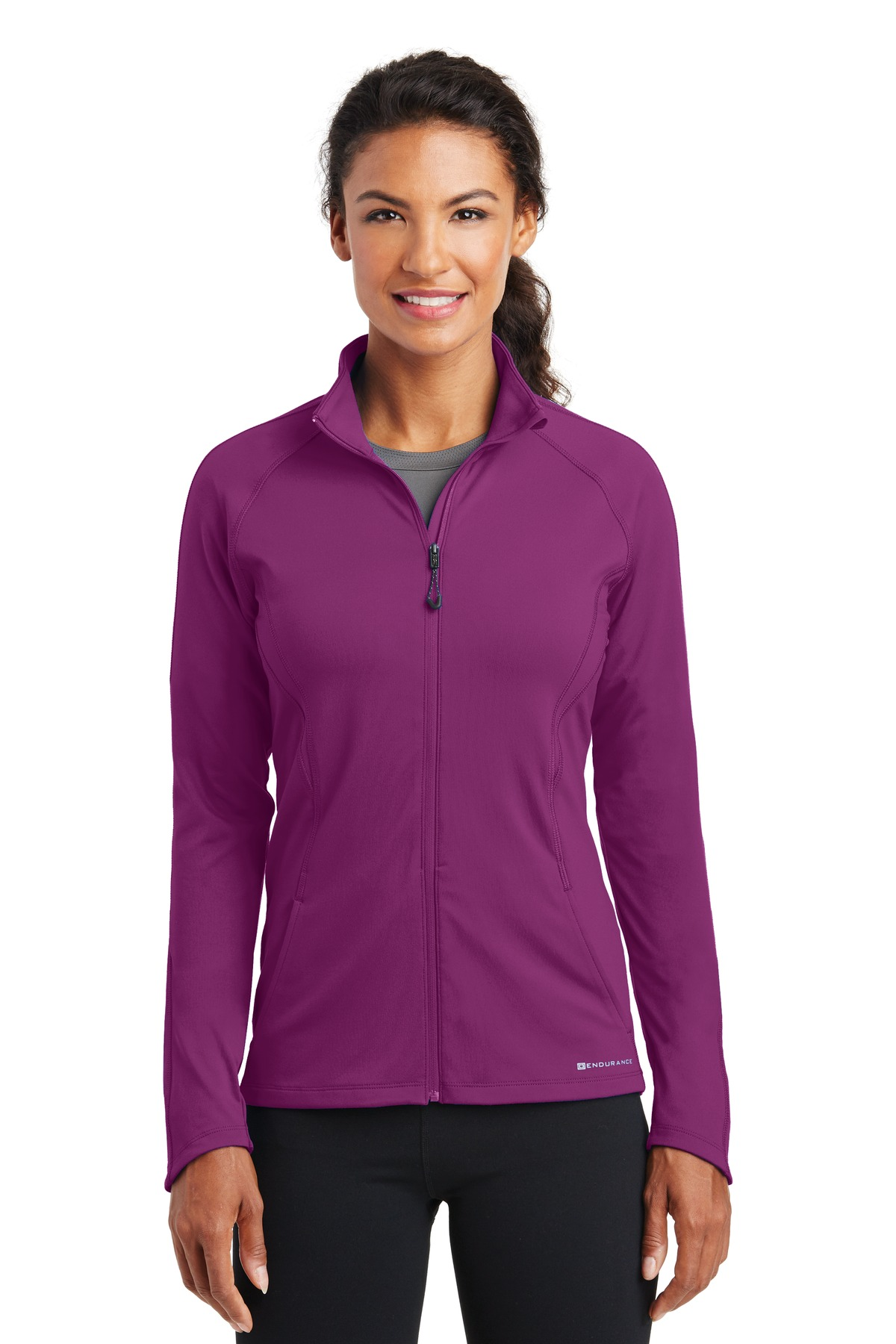 OGIO ®  ENDURANCE Ladies Radius Full-Zip. LOE551 - Purple Fuel