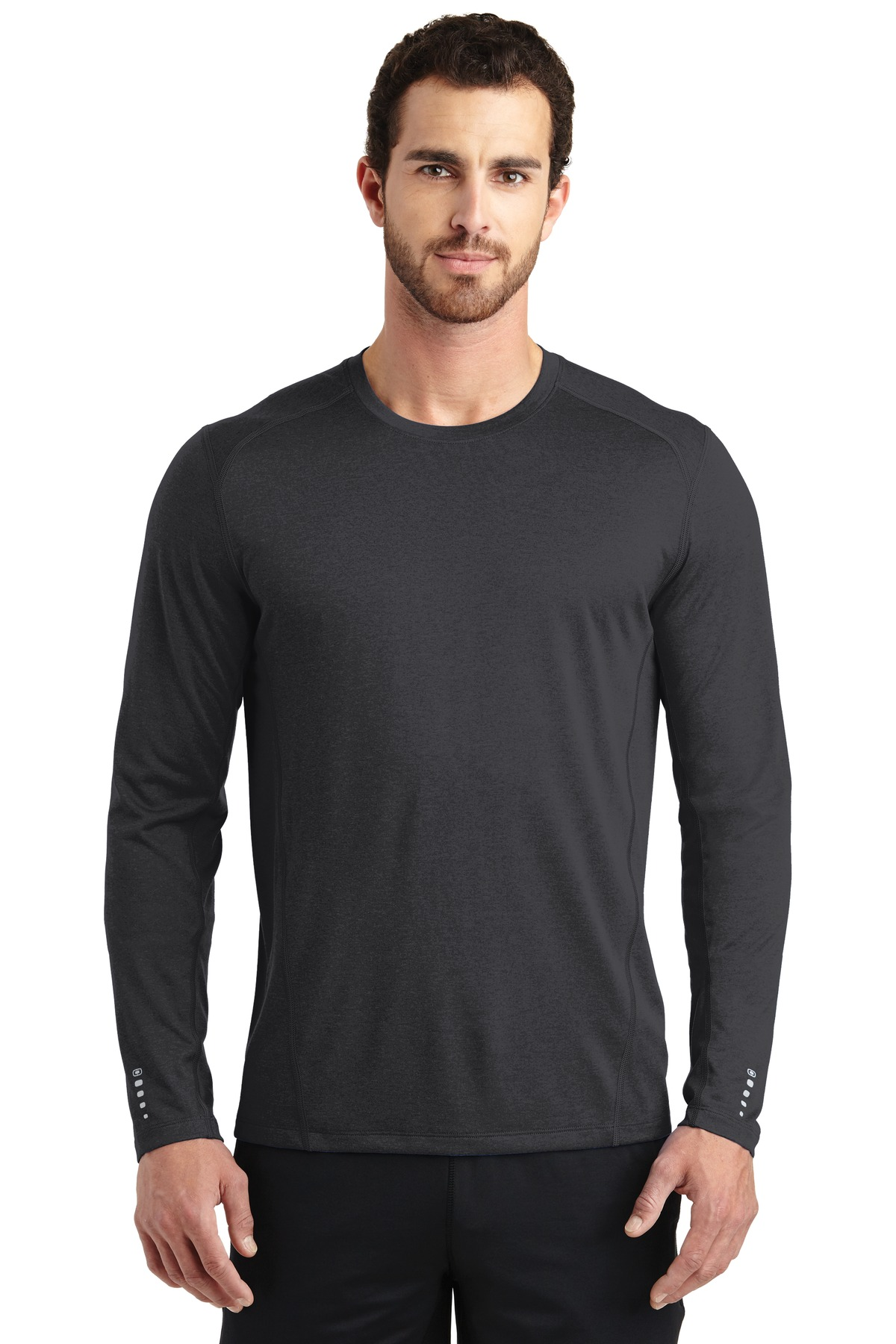 OGIO ®  ENDURANCE Long Sleeve Pulse Crew. OE321 - Blacktop