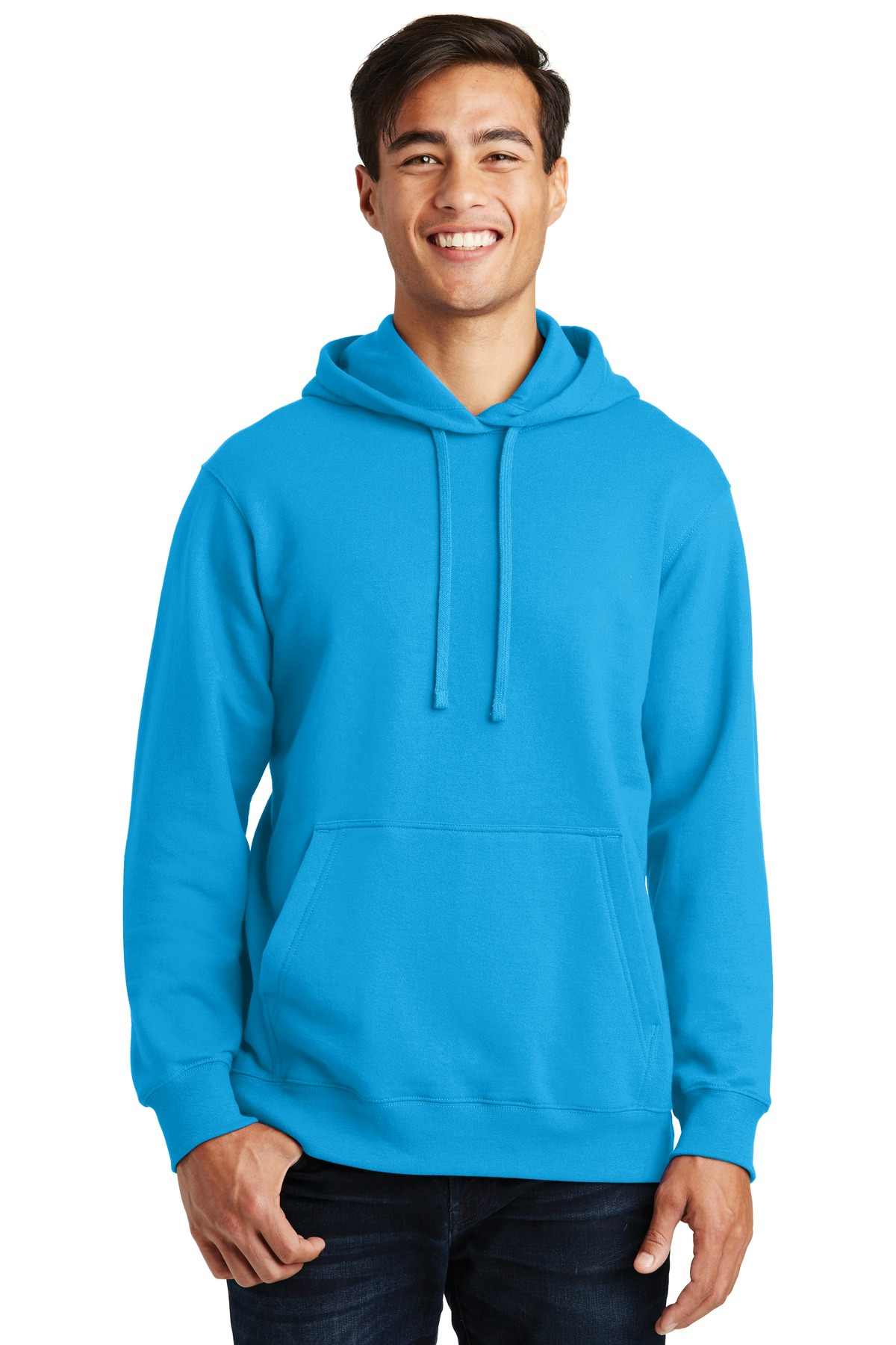 Port & Company Fan Favorite Fleece Pullover Hooded Sweatshirt. PC850H