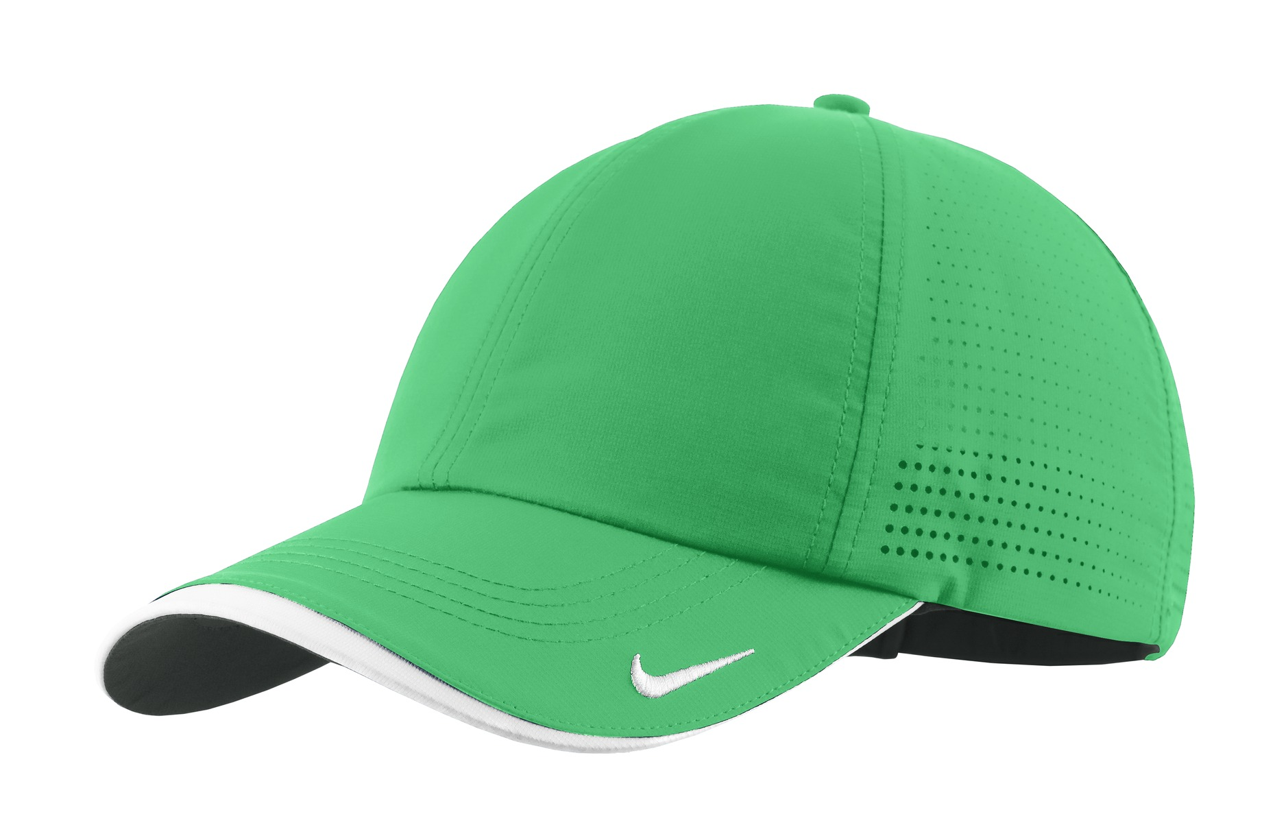 Nike Dri-FIT Swoosh Perforated Cap. 429467 - Lucky Green