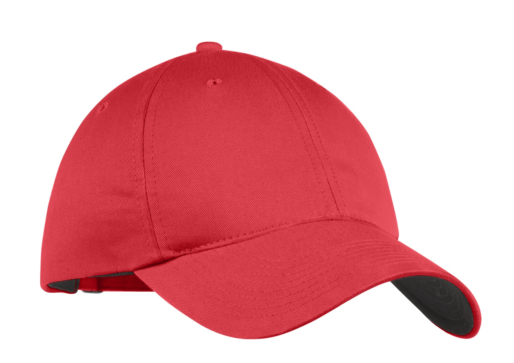 Nike Unstructured Twill Cap.  580087 - Gym Red