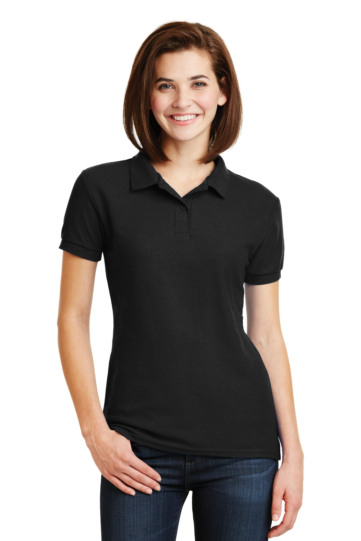 Gildan Ladies DryBlend 6-Ounce Double Pique Sport Shirt. 72800L