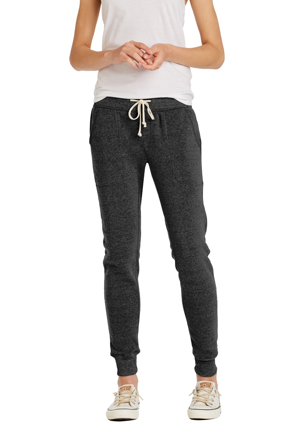 Alternative Women's Jogger Eco ™ -Fleece Pant. AA31082 - Eco Black