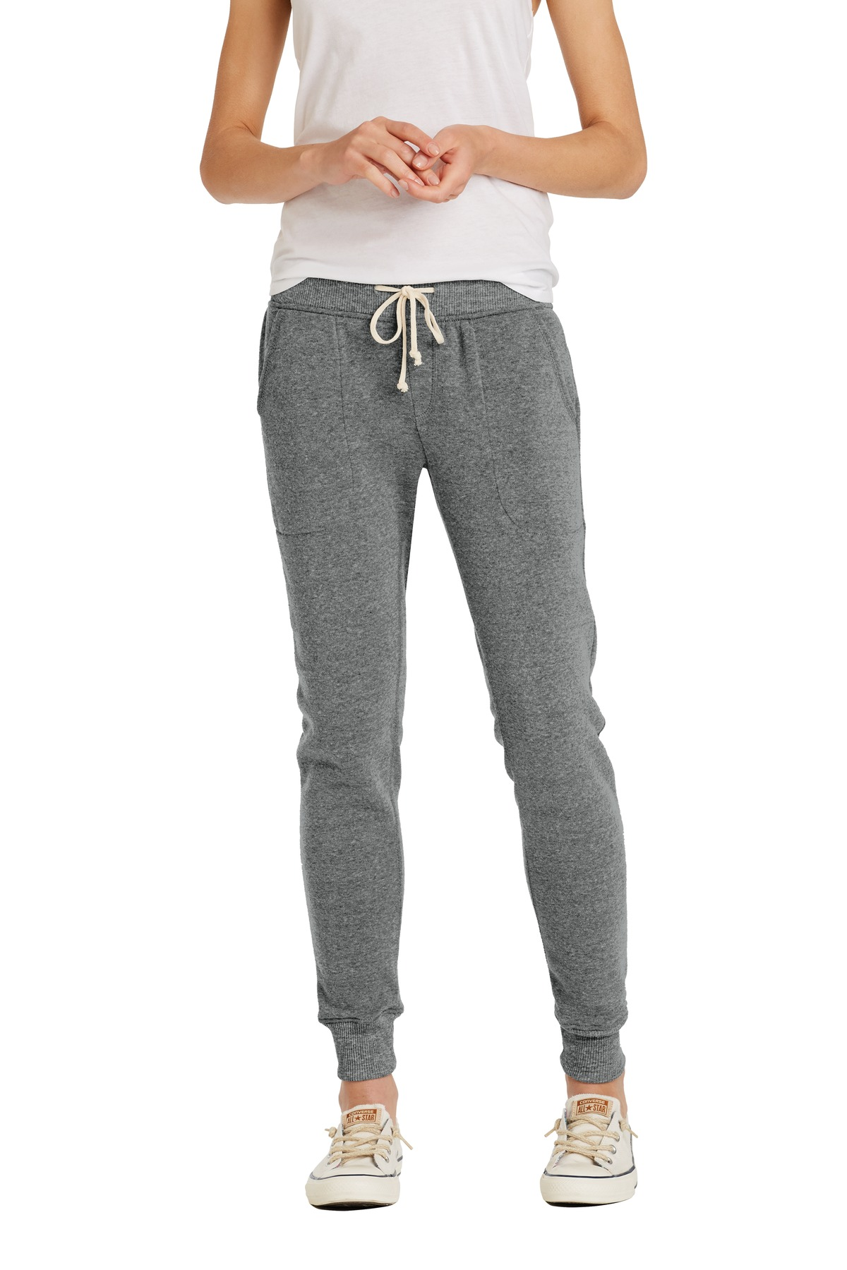 Alternative Women's Jogger Eco ™ -Fleece Pant. AA31082 - Eco Grey