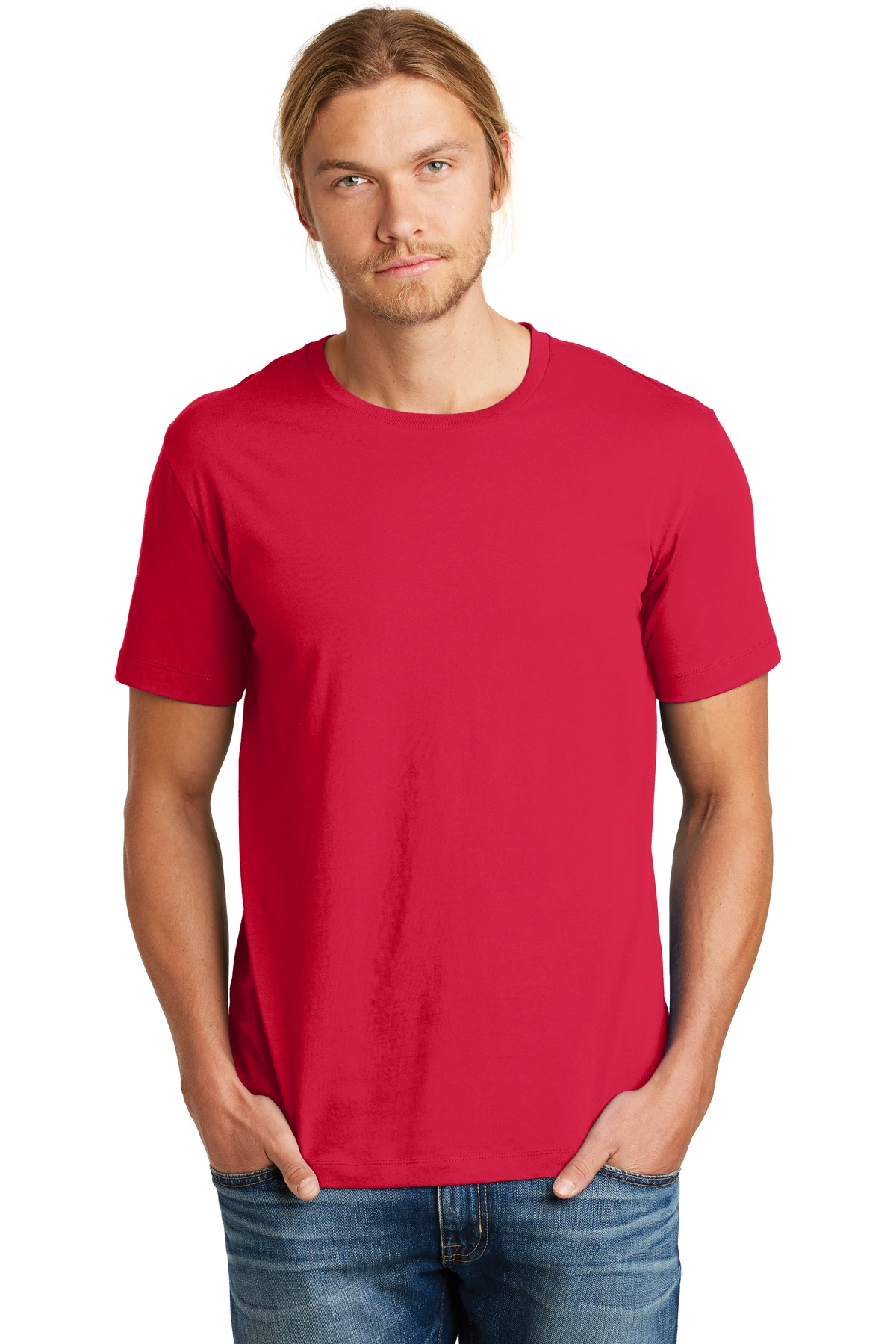 Alternative Heirloom Crew T-Shirt. AA9070 - Apple Red
