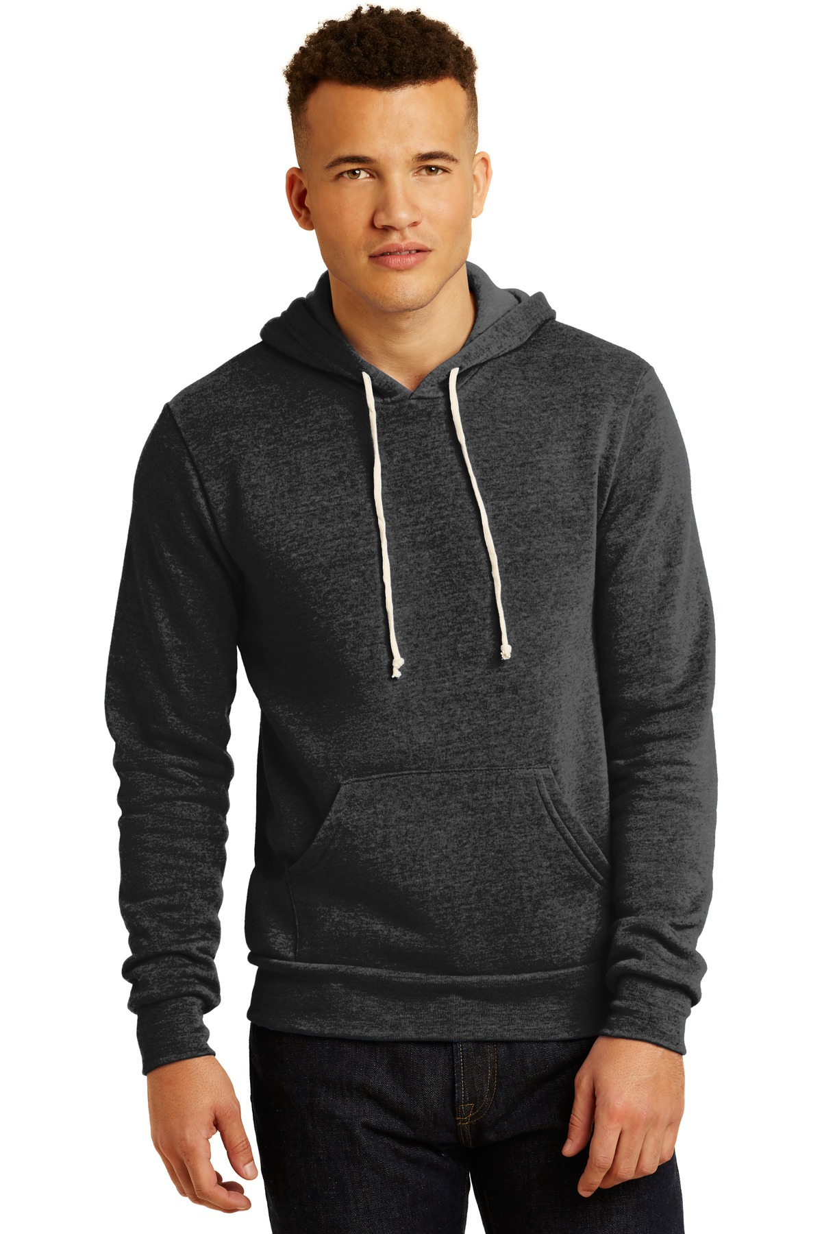 Alternative Challenger Eco ™ -Fleece Pullover Hoodie. AA9595 - Eco Black
