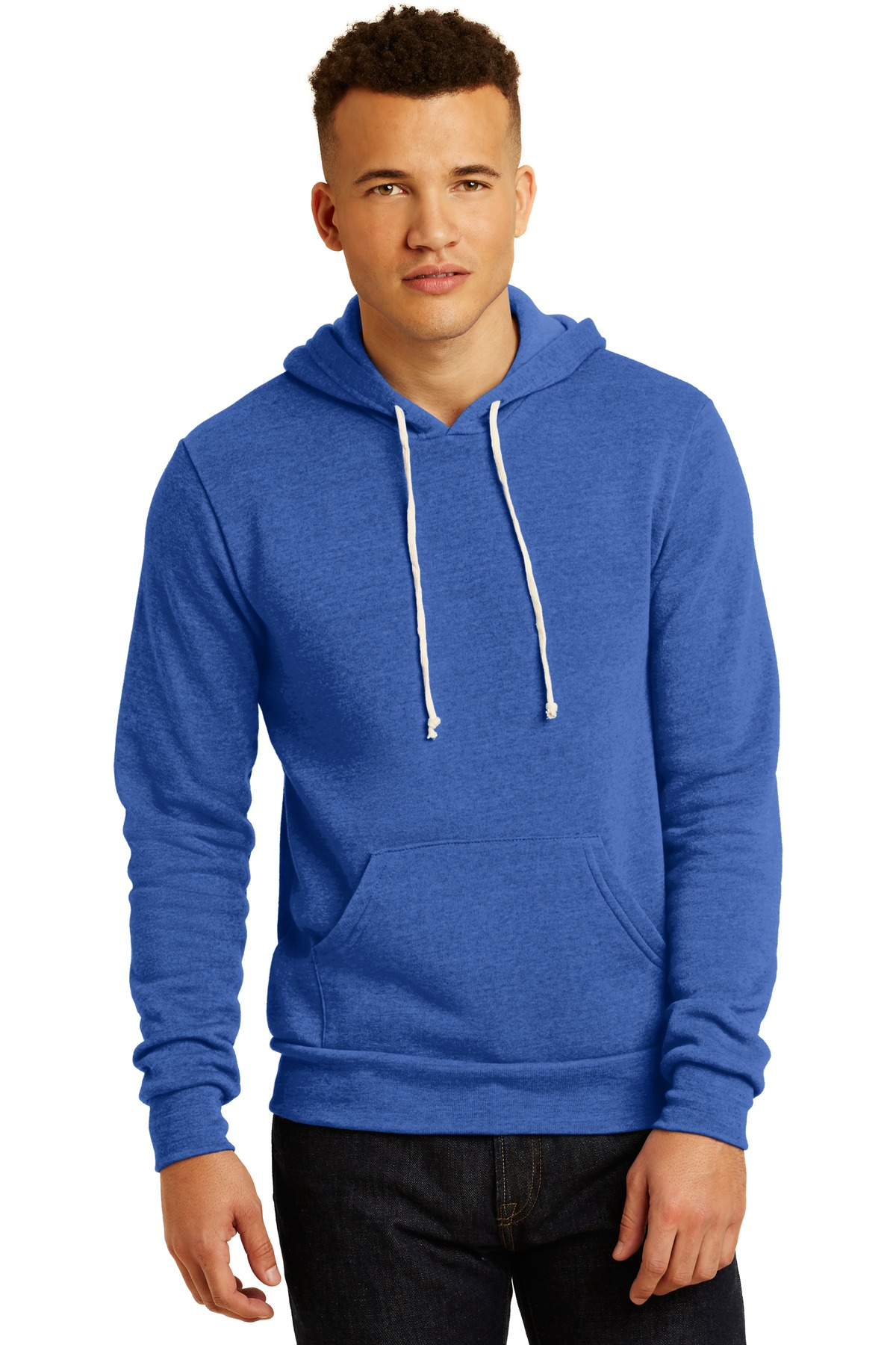 Alternative Challenger Eco-Fleece Pullover Hoodie. AA9595