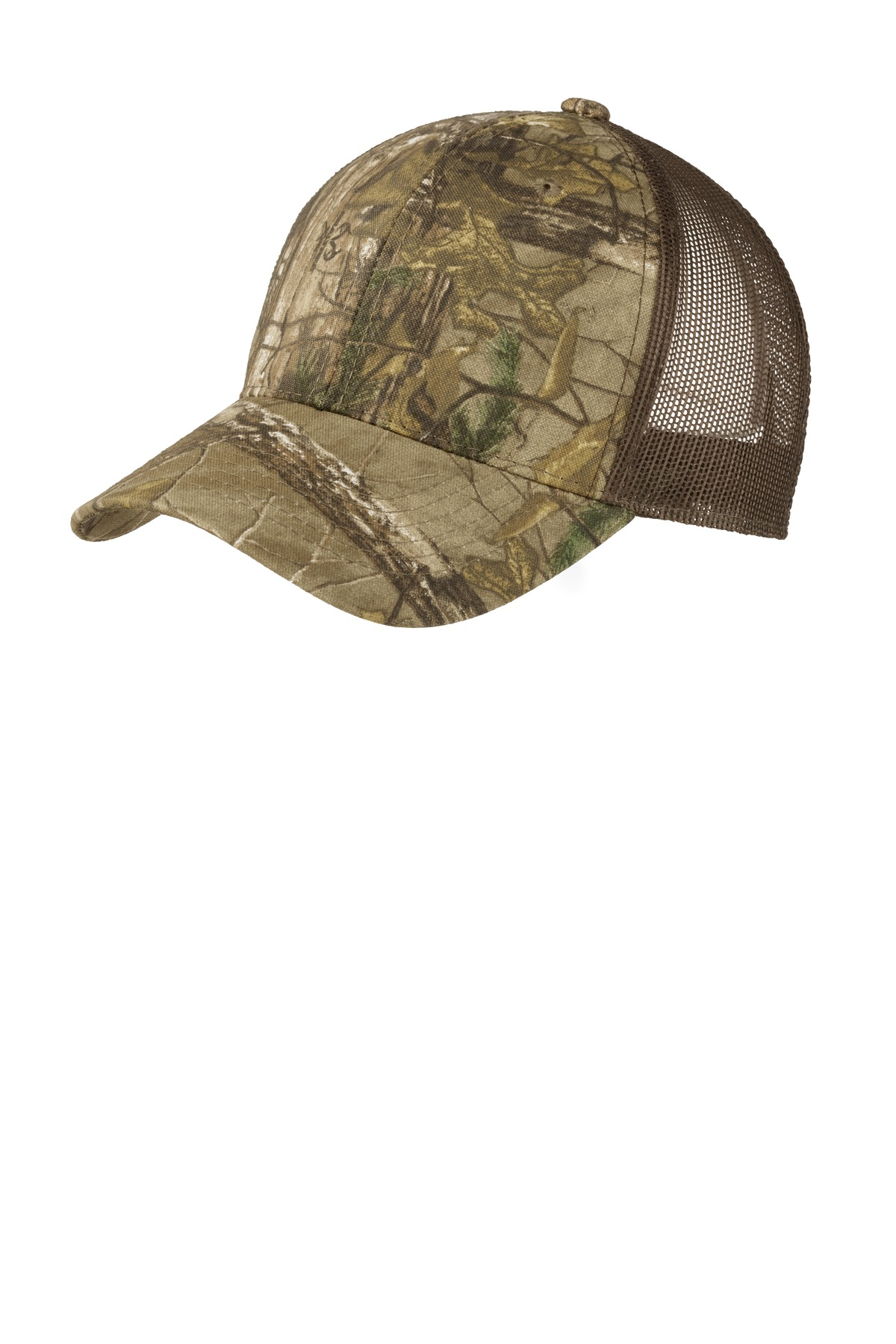 Port Authority ®  Structured Camouflage Mesh Back Cap. C930 - Realtree Xtra/ Brown